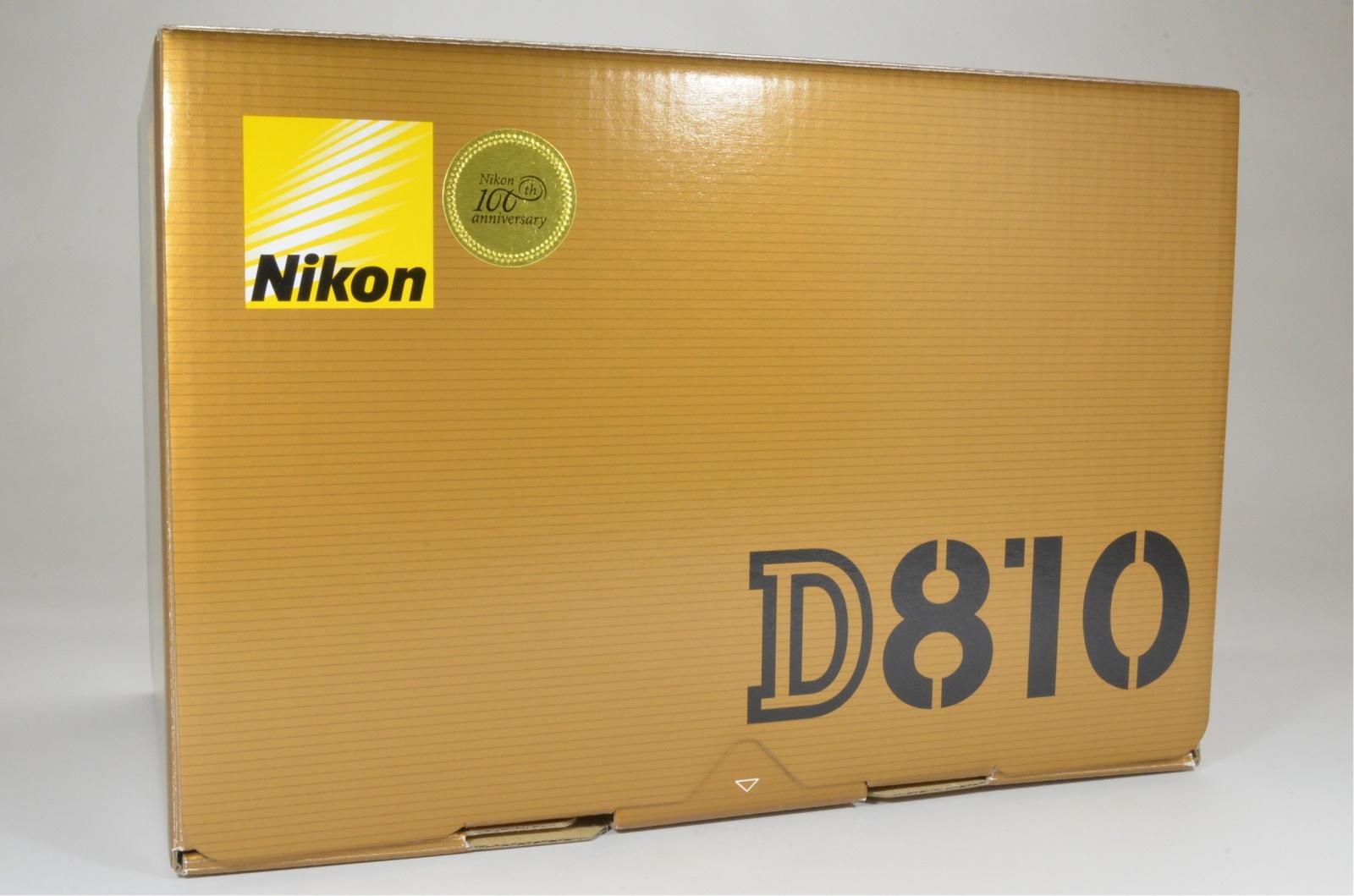 nikon d810 36.3mp digital slr camera body shutter count 8437 from japan