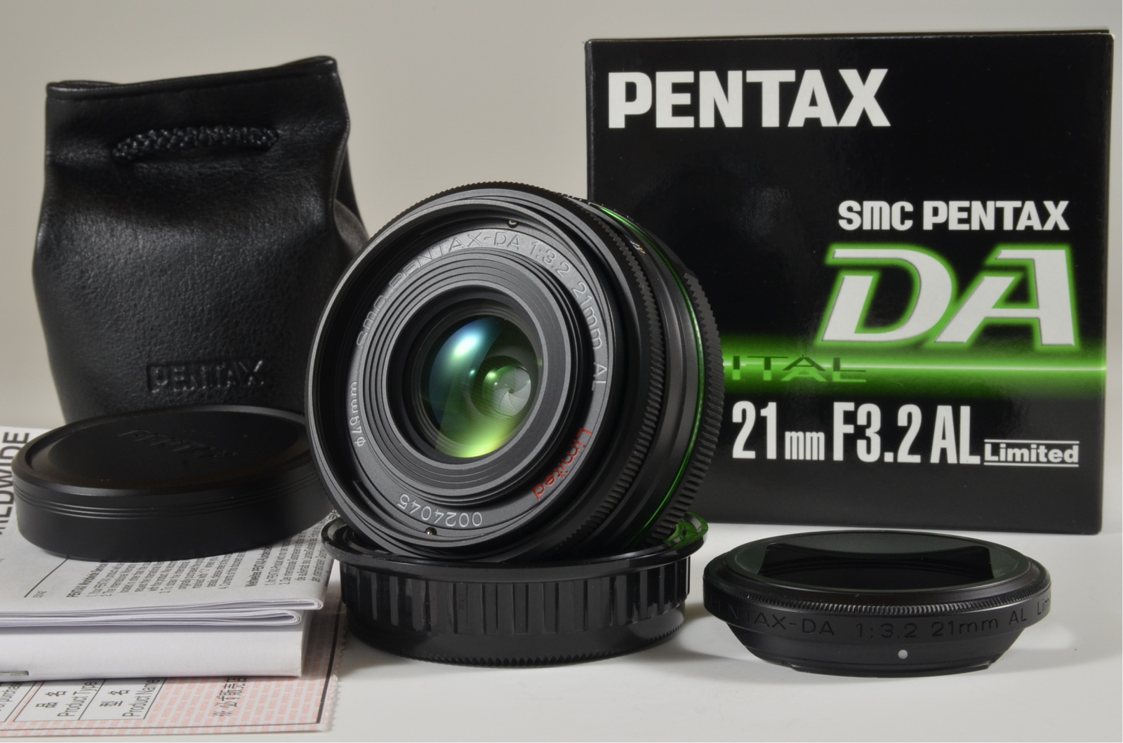 pentax smc da 21mm f3.2 al limited