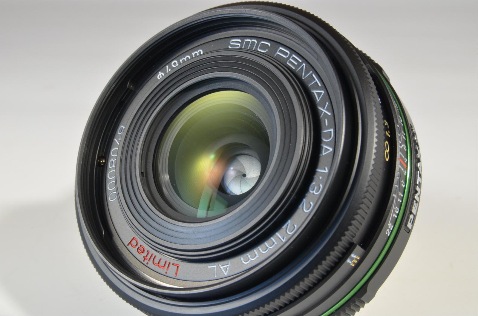 pentax smc da 21mm f3.2 al limited