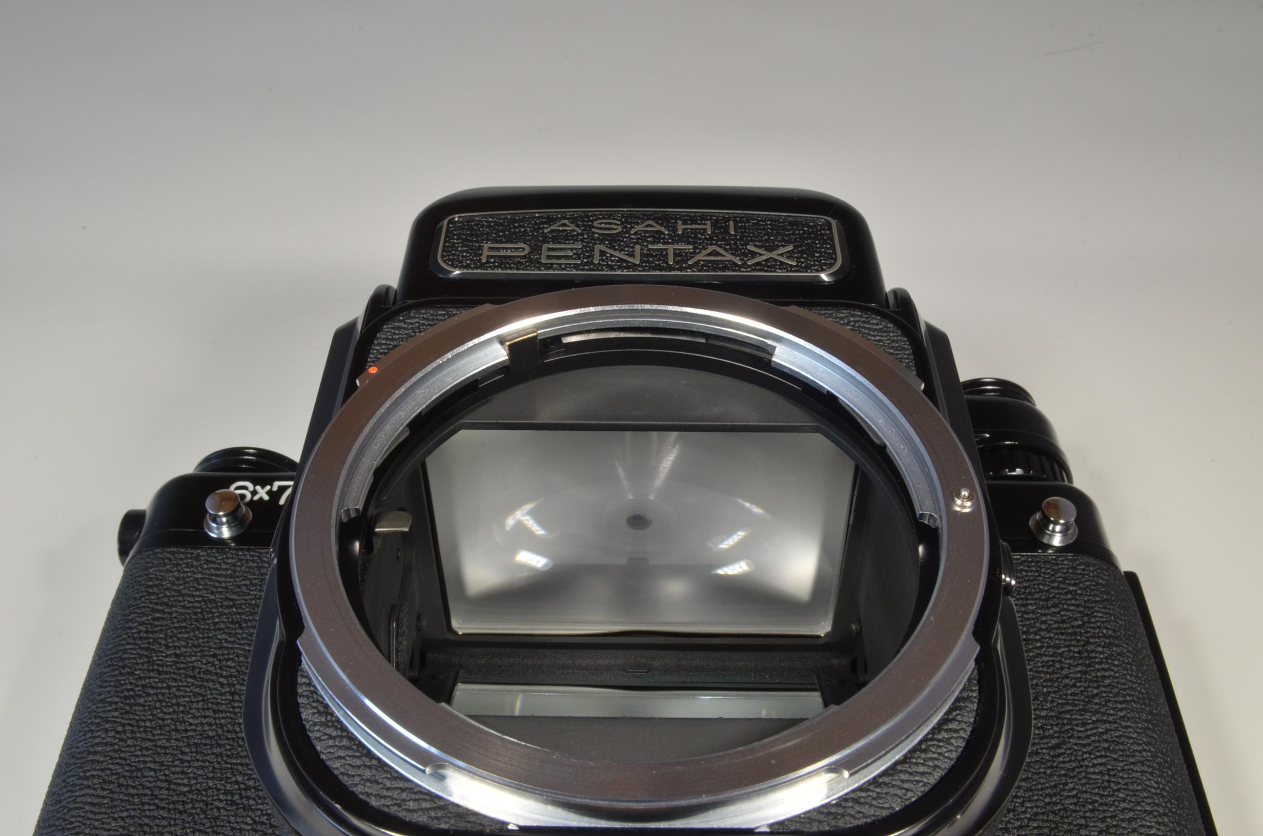 pentax 6x7 67 / smc 105mm f2.4 / 45mm f4 / ph-sb / national pe-480sg