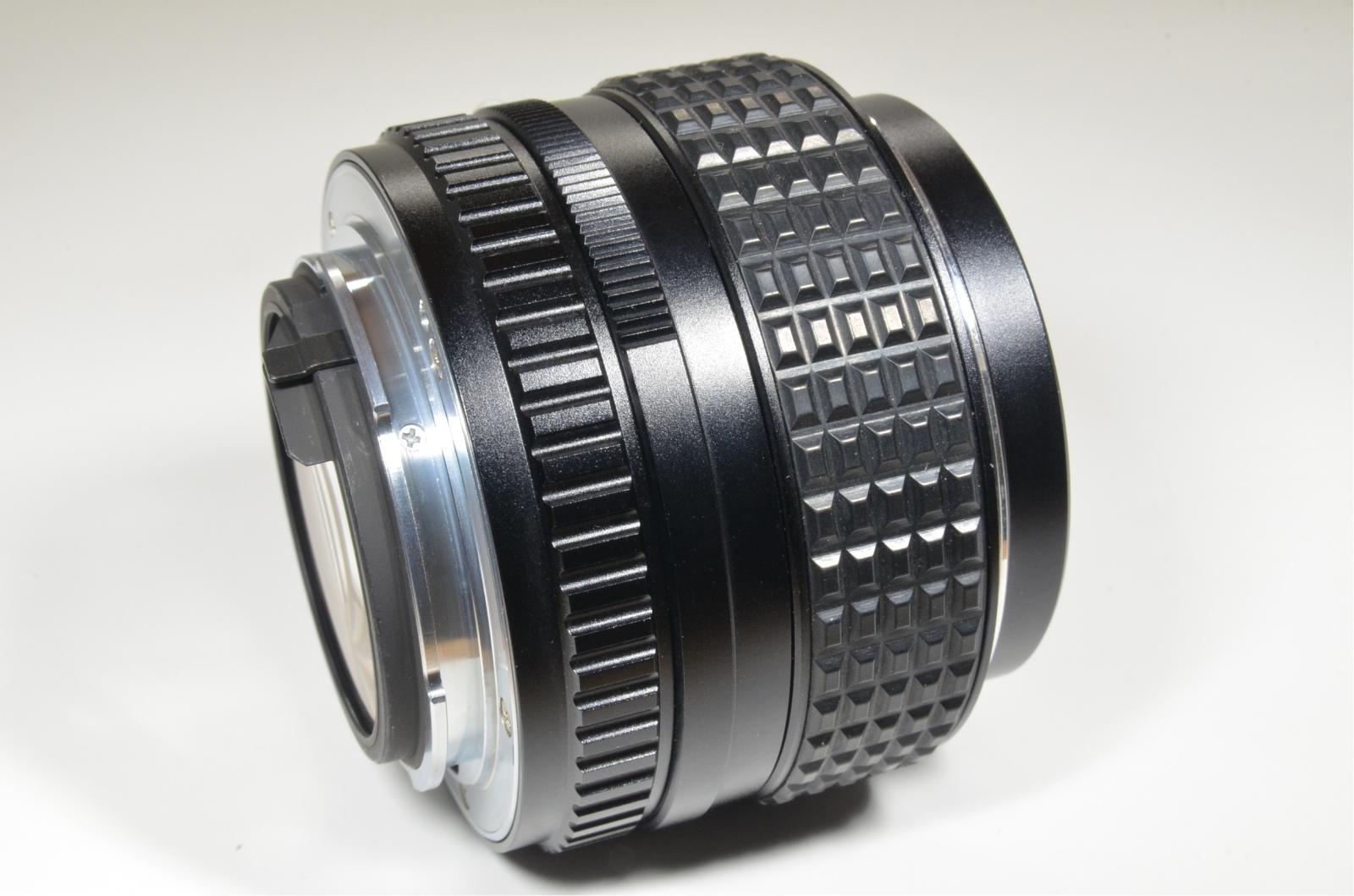 asahi smc pentax 50mm f/1.2 lens for k mount from japan