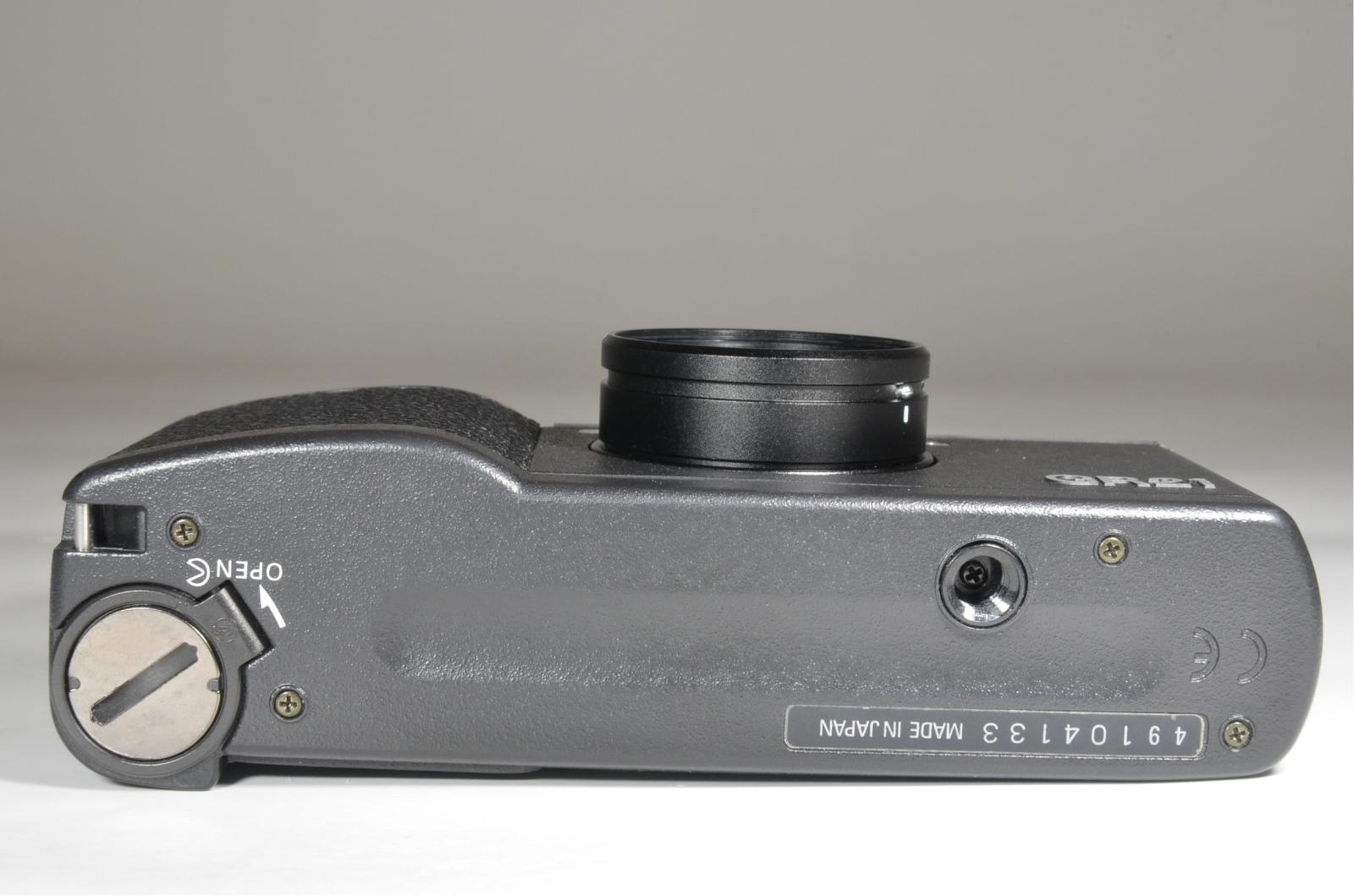 ricoh gr21 35mm point & shoot film camera
