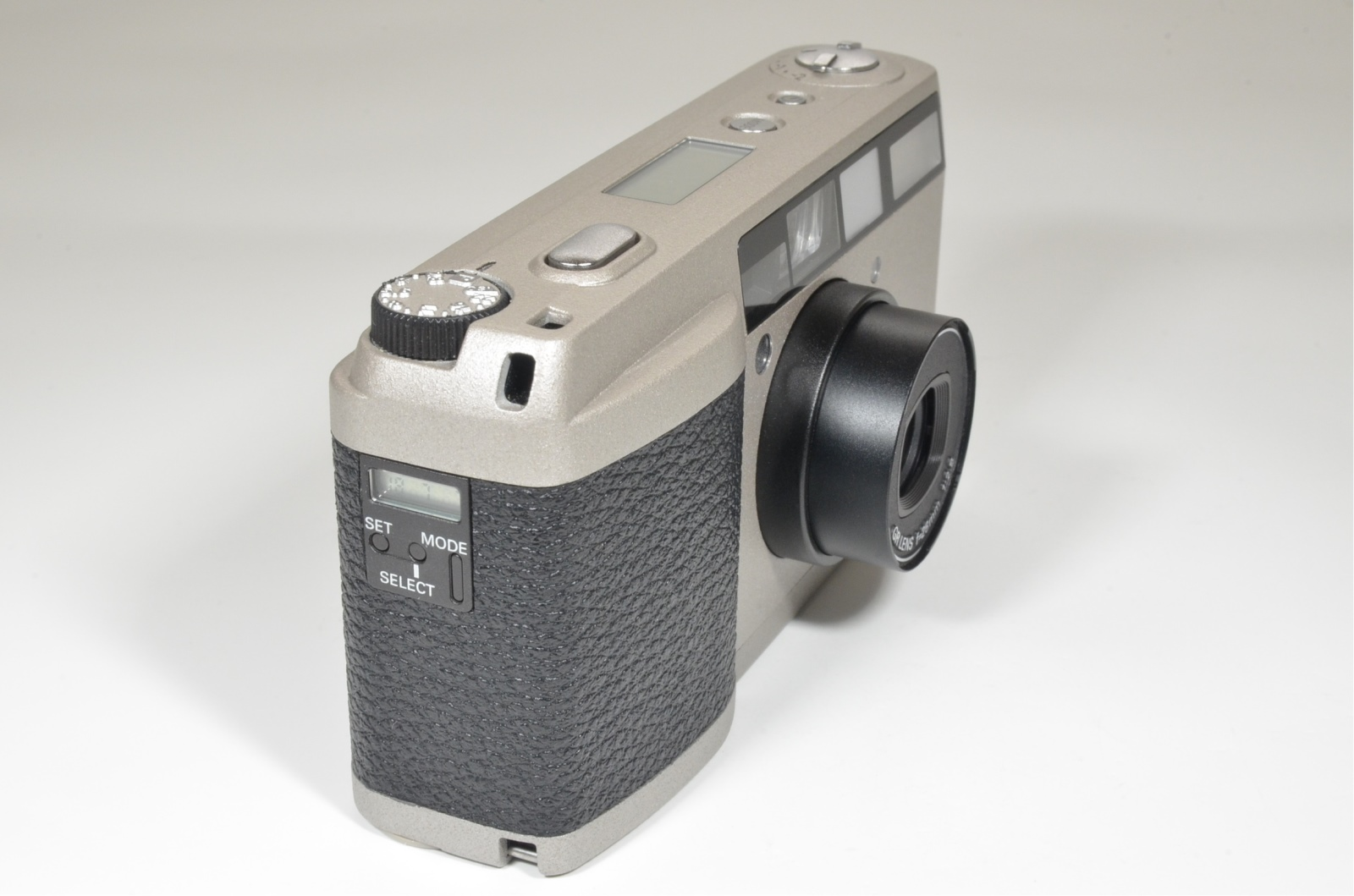ricoh gr1v date silver 28mm f2.8 point & shoot 35mm film camera