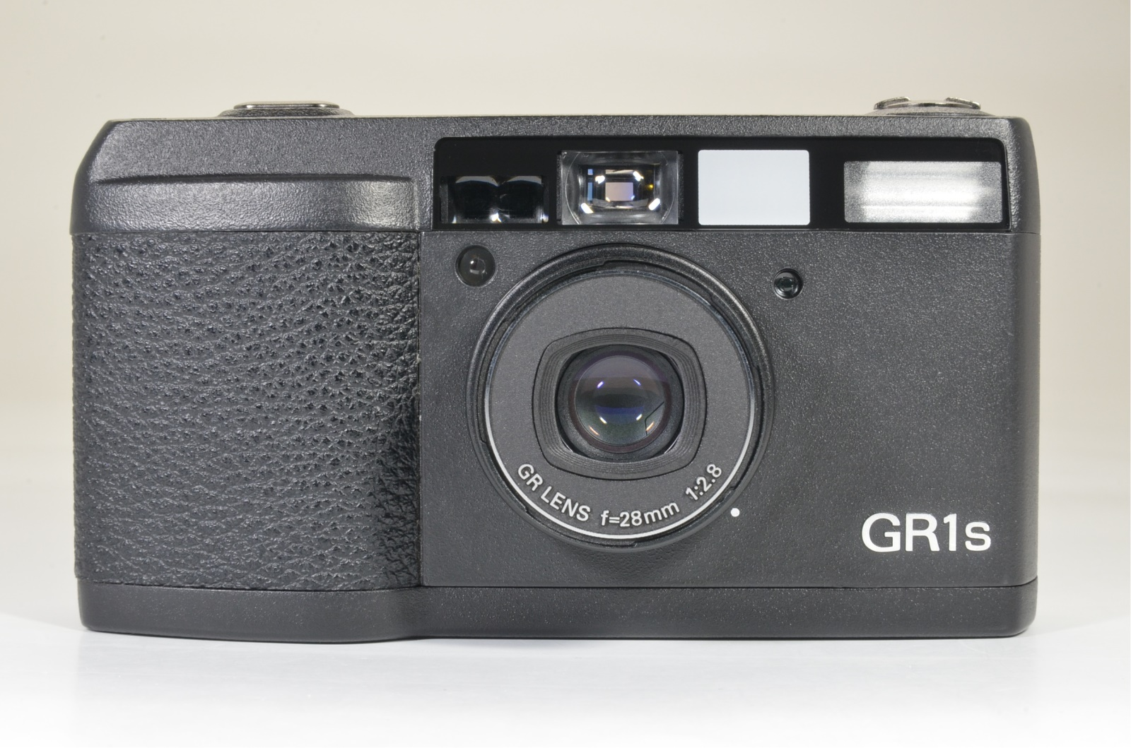 ricoh gr1s black 28mm f2.8 film camera from japan lcd works film tested