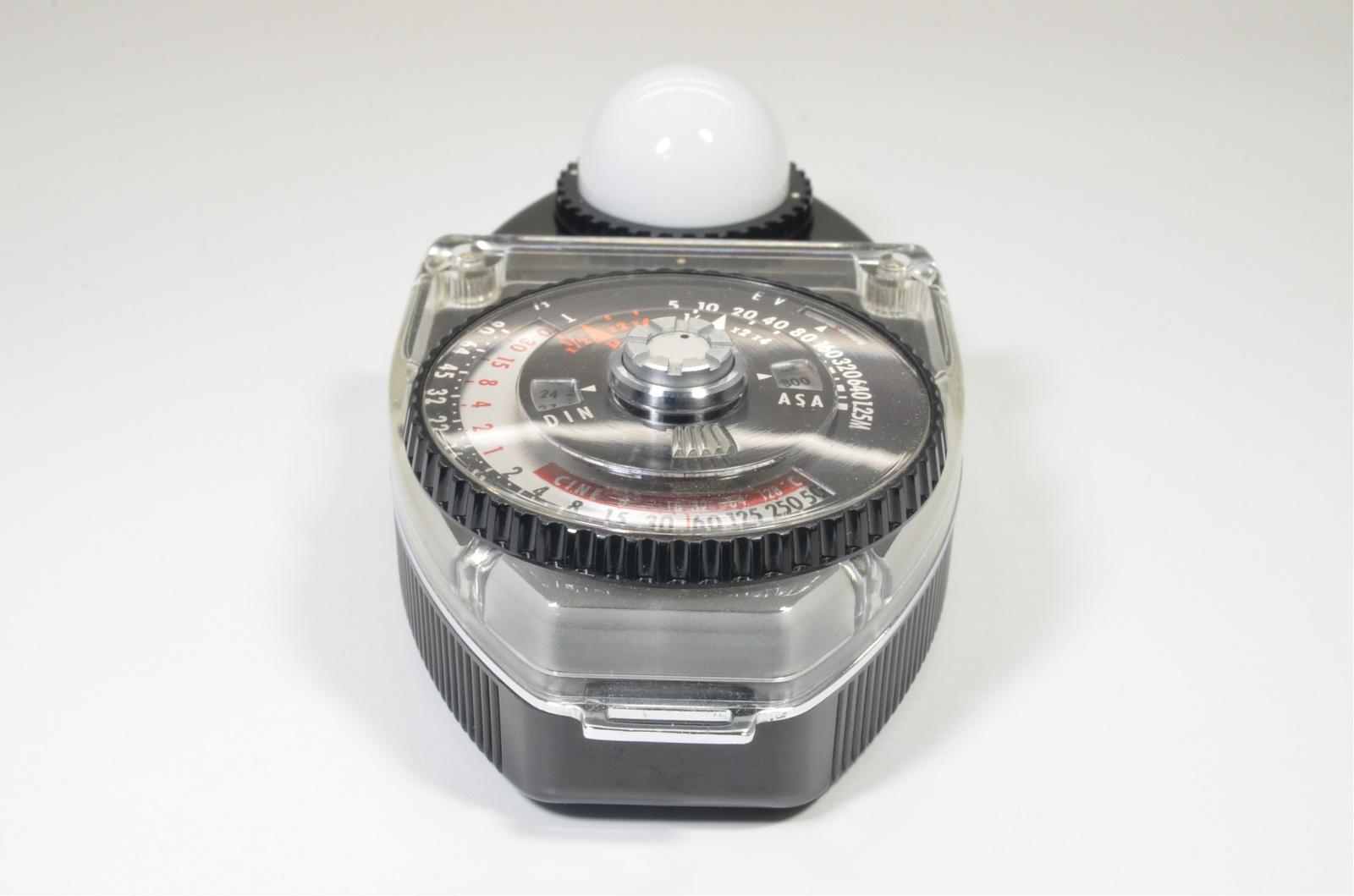 sekonic studio deluxe l-398 exposure light meter from japan