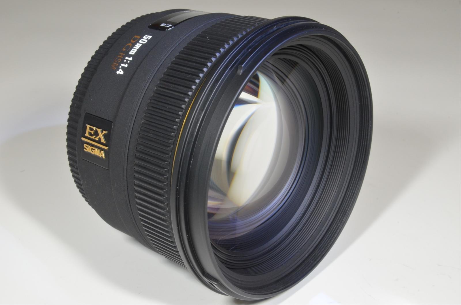sigma 50mm f1.4 ex dg hsm for nikon