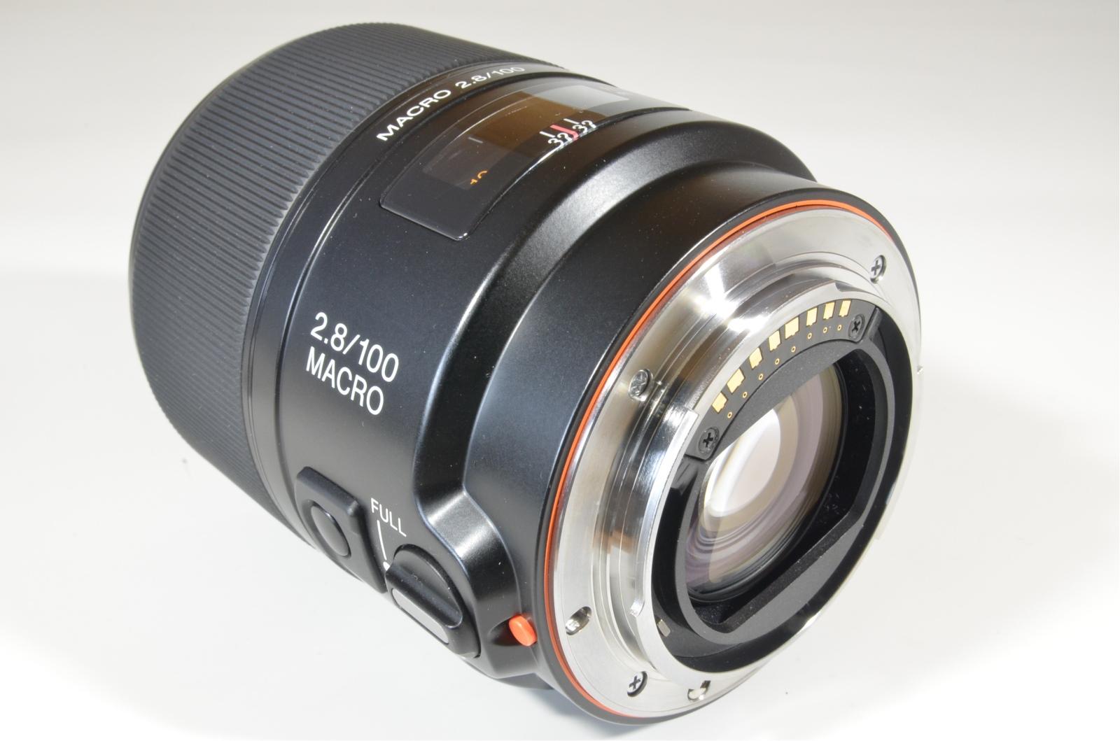 sony macro 100mm f2.8