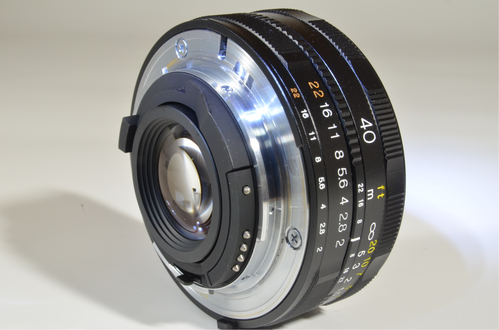 voigtlander ultron 40mm f/2 sl ii for nikon ai-s ais