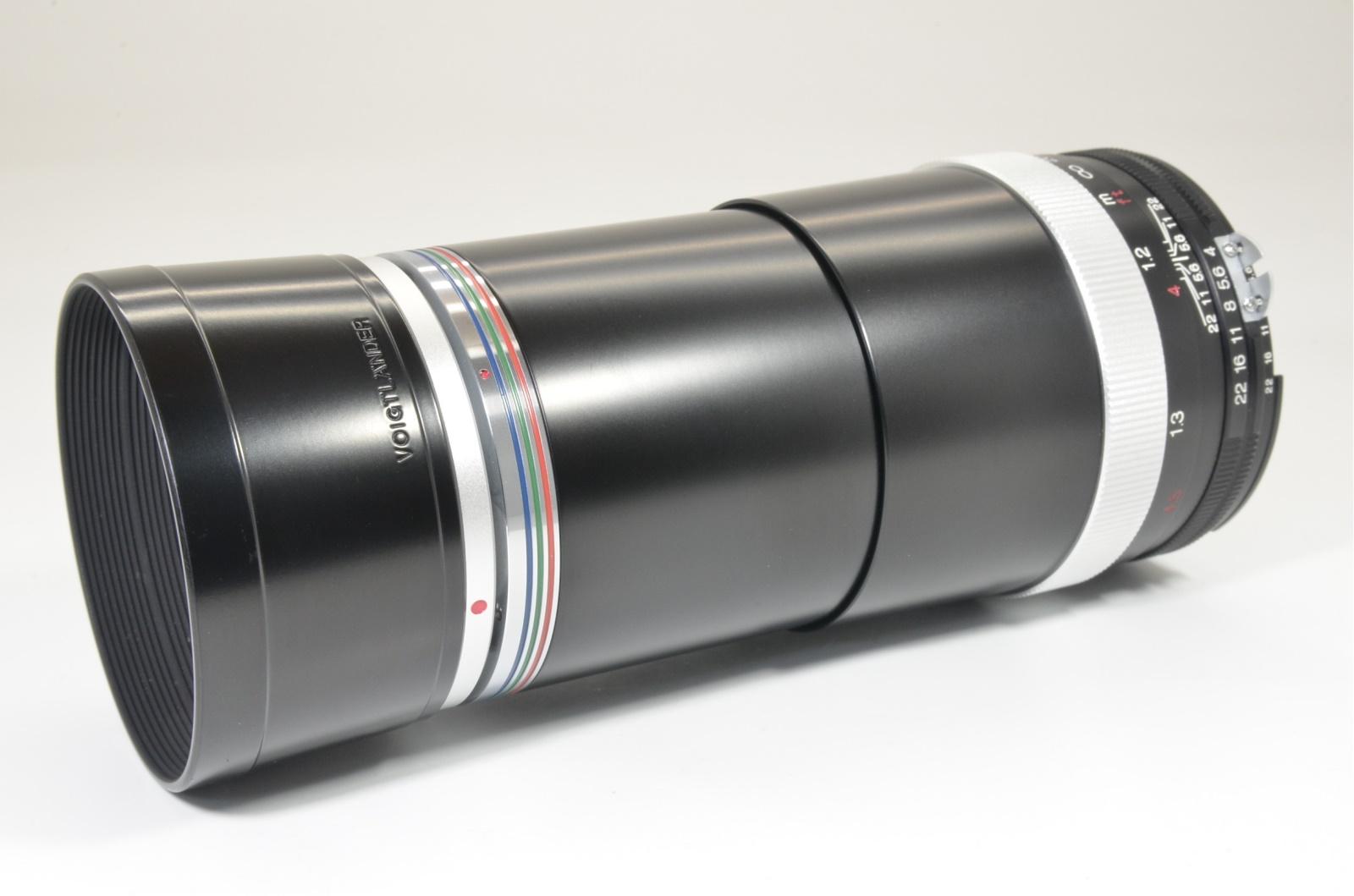 voigtlander apo-lanthar 180mm f4 sl for ai-s nikon recently cla'd by cosina