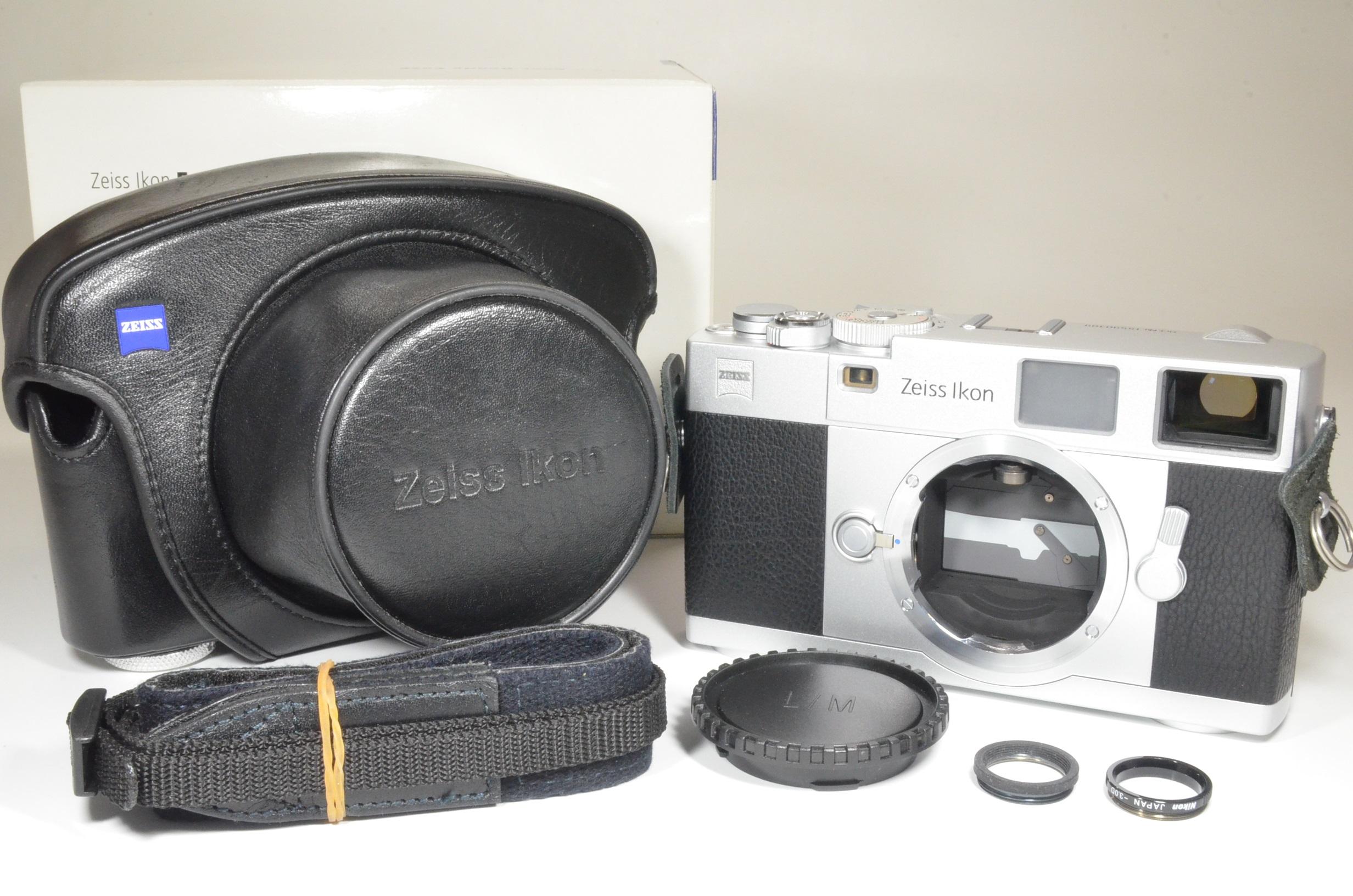 zeiss ikon zm m-mount rangefinder 35mm film camera silver  shooting tested