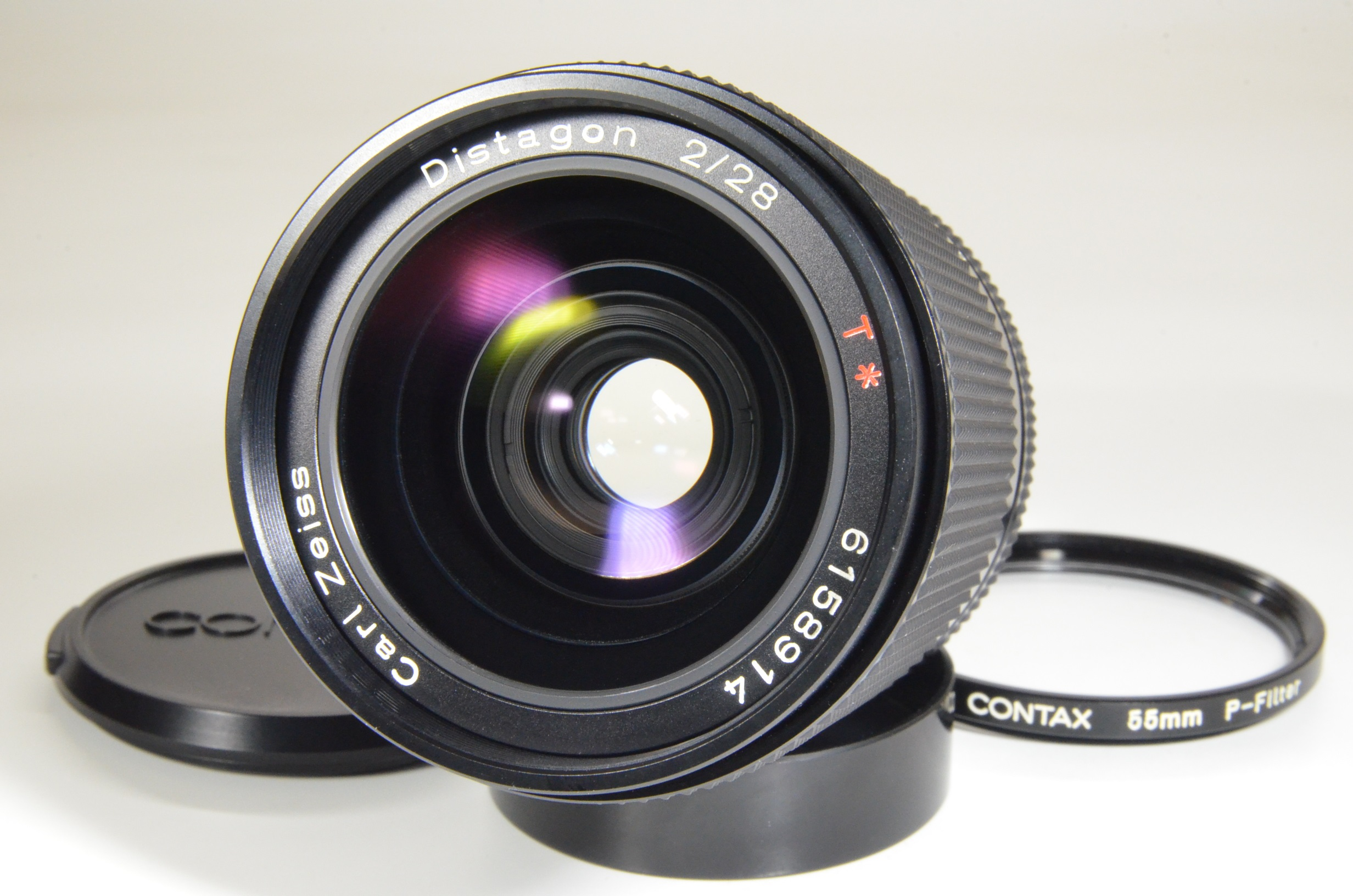 contax carl zeiss distagon t* 28mm f2 mmg made in west germany