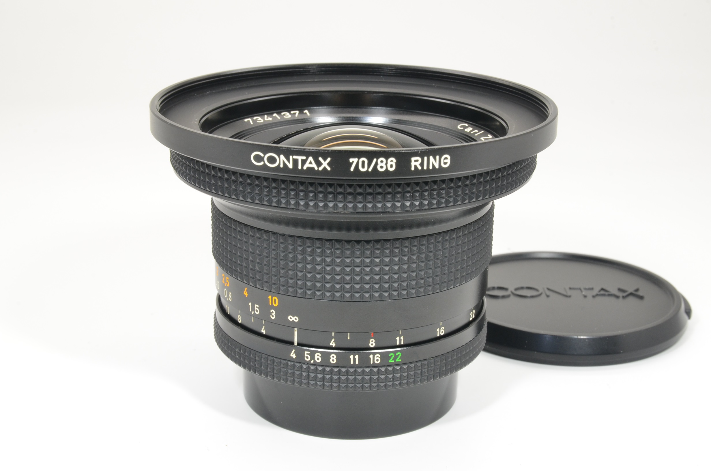 contax carl zeiss distagon t* 18mm f4 mmj japan with 70/86 ring  shooting