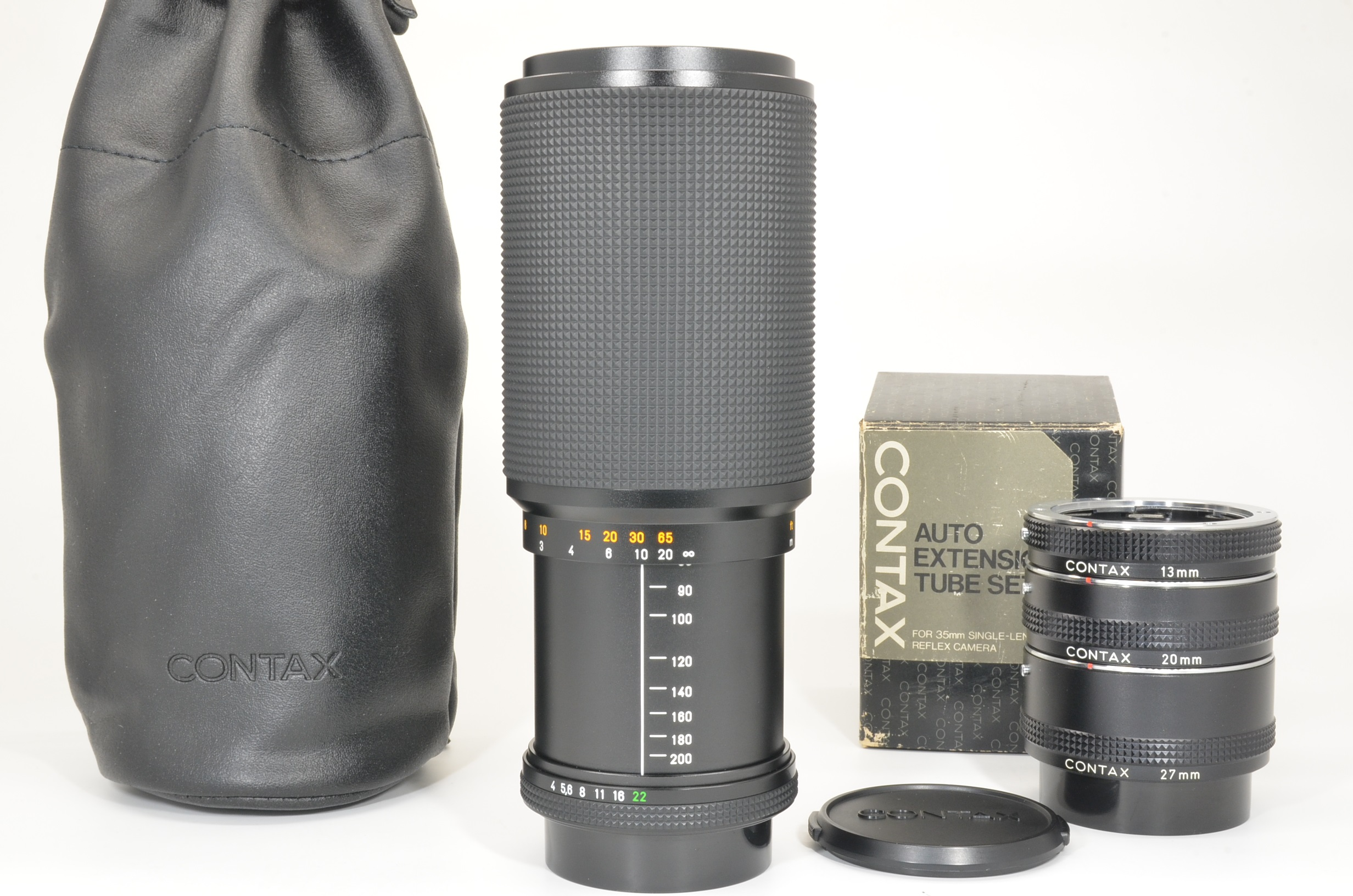 contax carl zeiss vario-sonnar 80-200mm f4 mmj, extension tube shooting tested