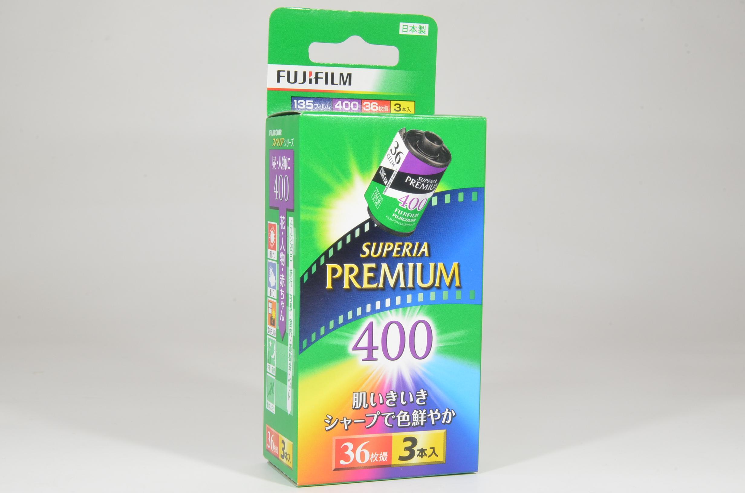 fujifilm superia premium iso 400 daylight color negative 36 exp 3 rolls