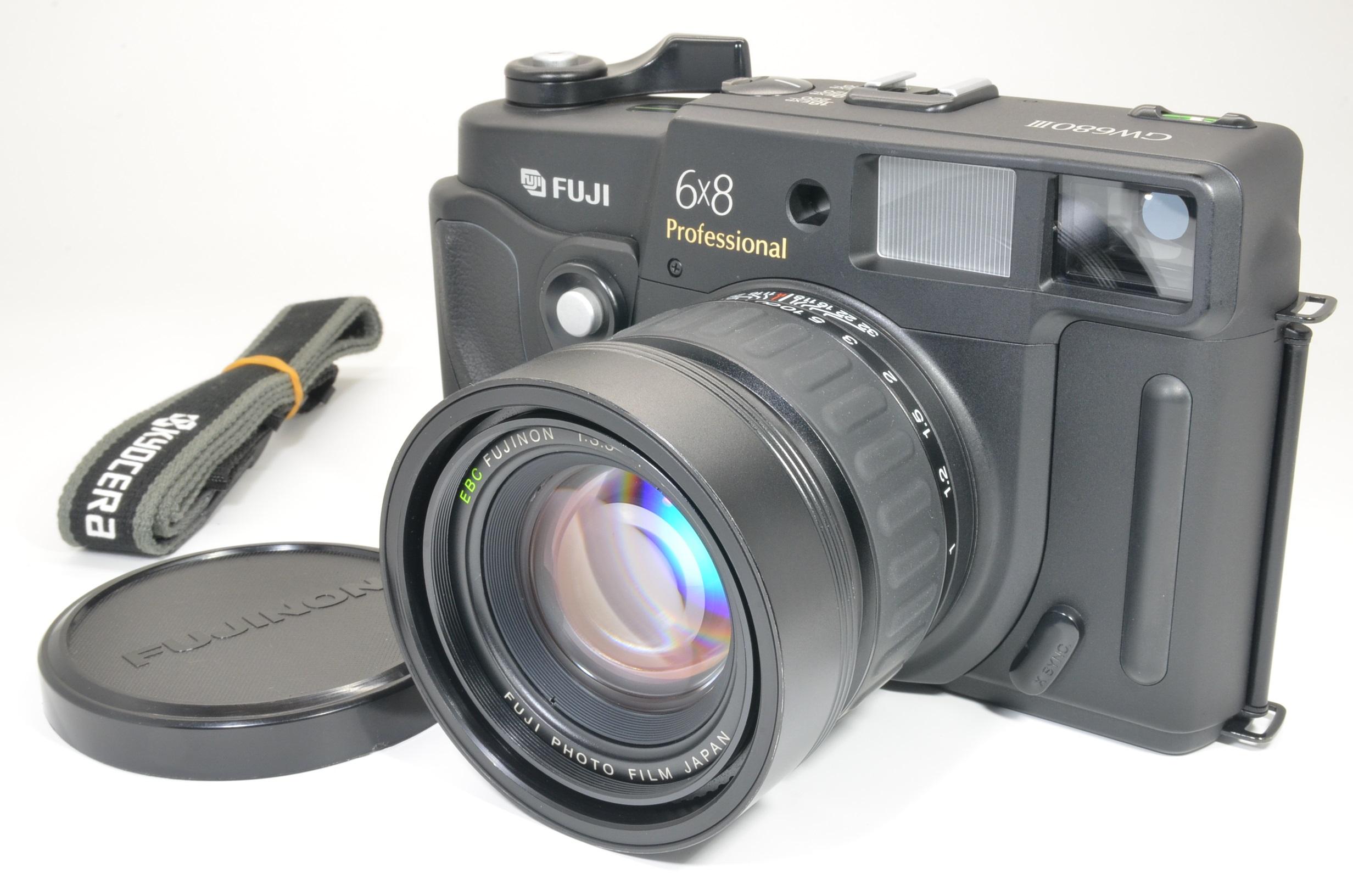 fuji fujifilm gw680iii 90mm f3.5 count 151 medium format camera shooting tested