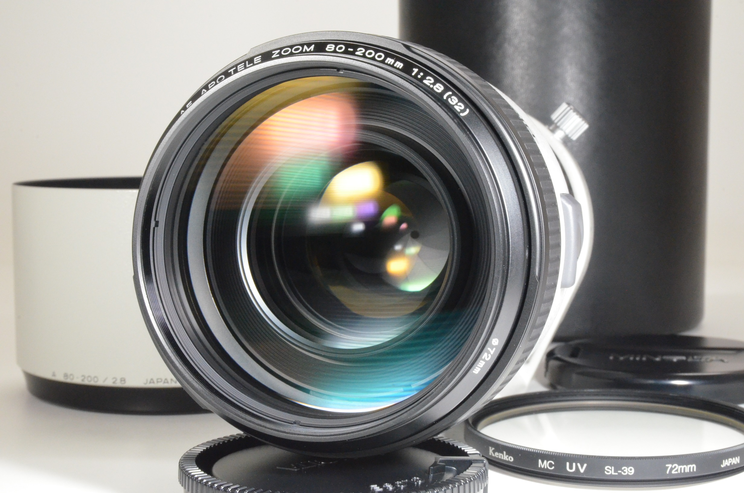 minolta high speed af apo 80-200mm f2.8 g lens sony japan w/ lens case