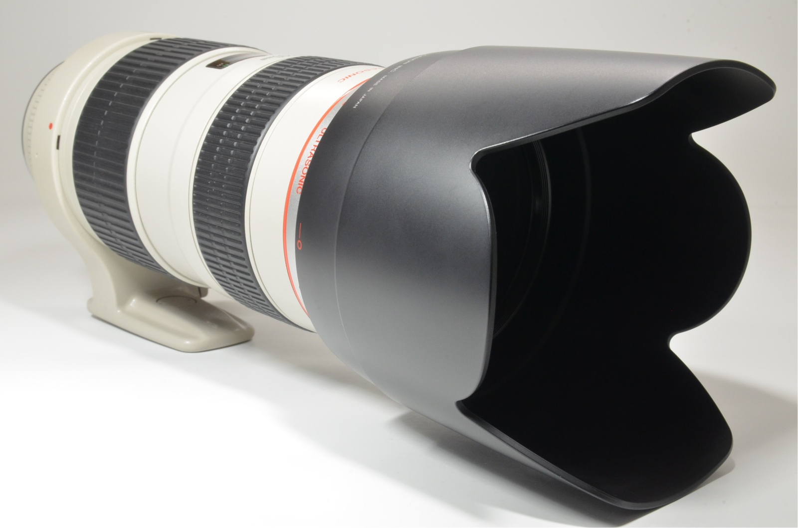 canon ef 70-200mm f/2.8 l usm ultrasonic lens with pl-filter