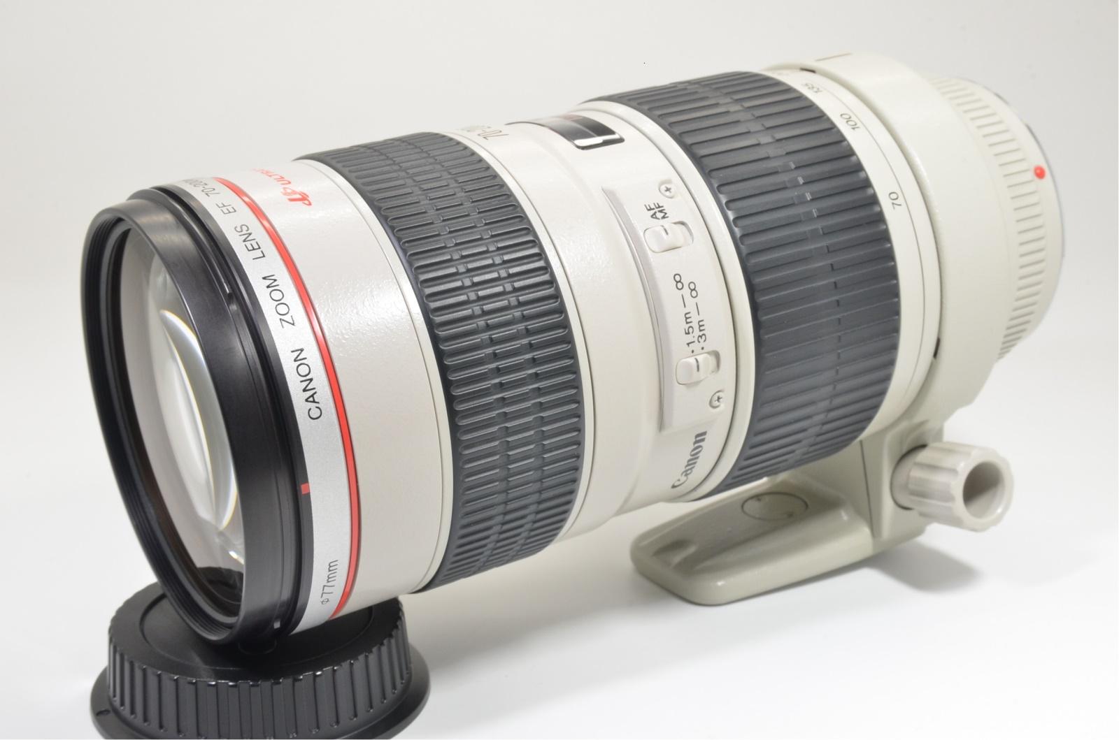 canon ef 70-200mm f/2.8 l usm ultrasonic lens near mint shooting tested
