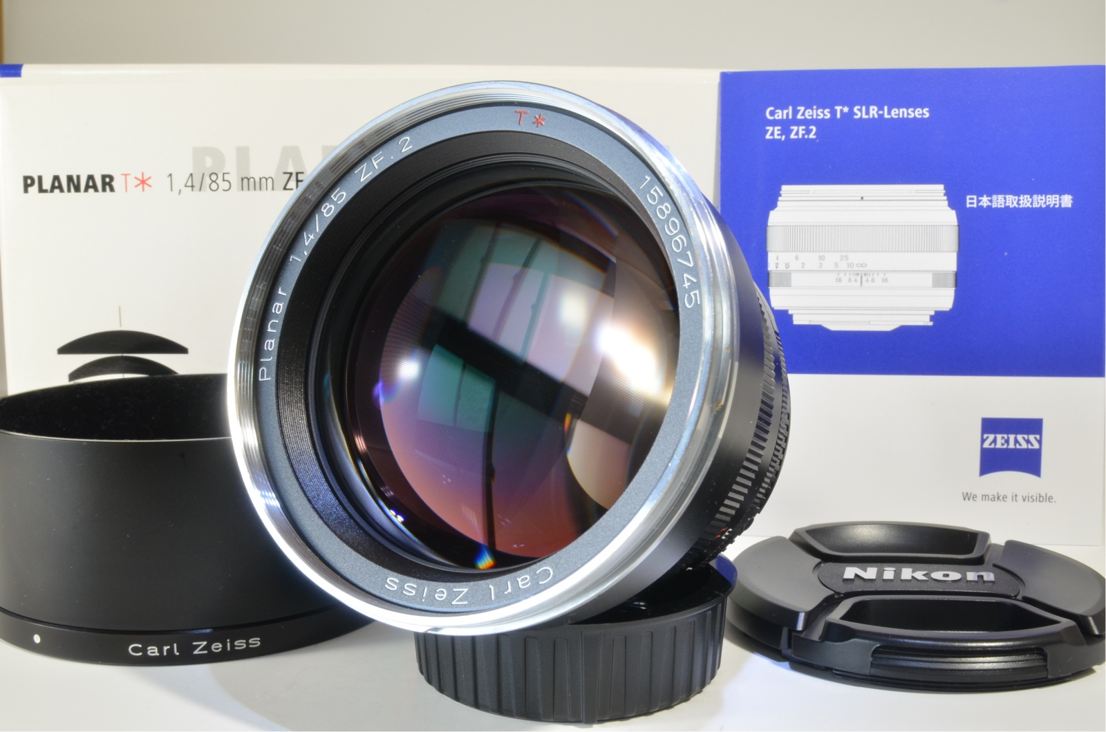 carl zeiss planar t* 85mm f/1.4 zf.2 for nikon