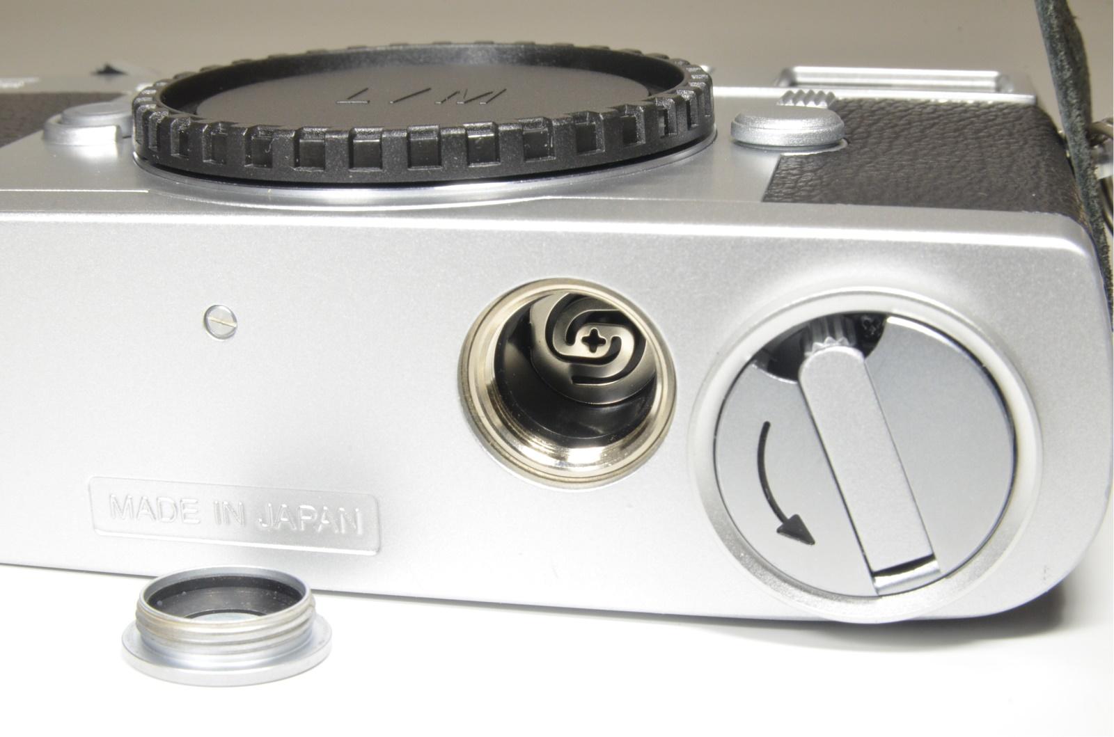 zeiss ikon zm m-mount rangefinder 35mm film camera silver film tested