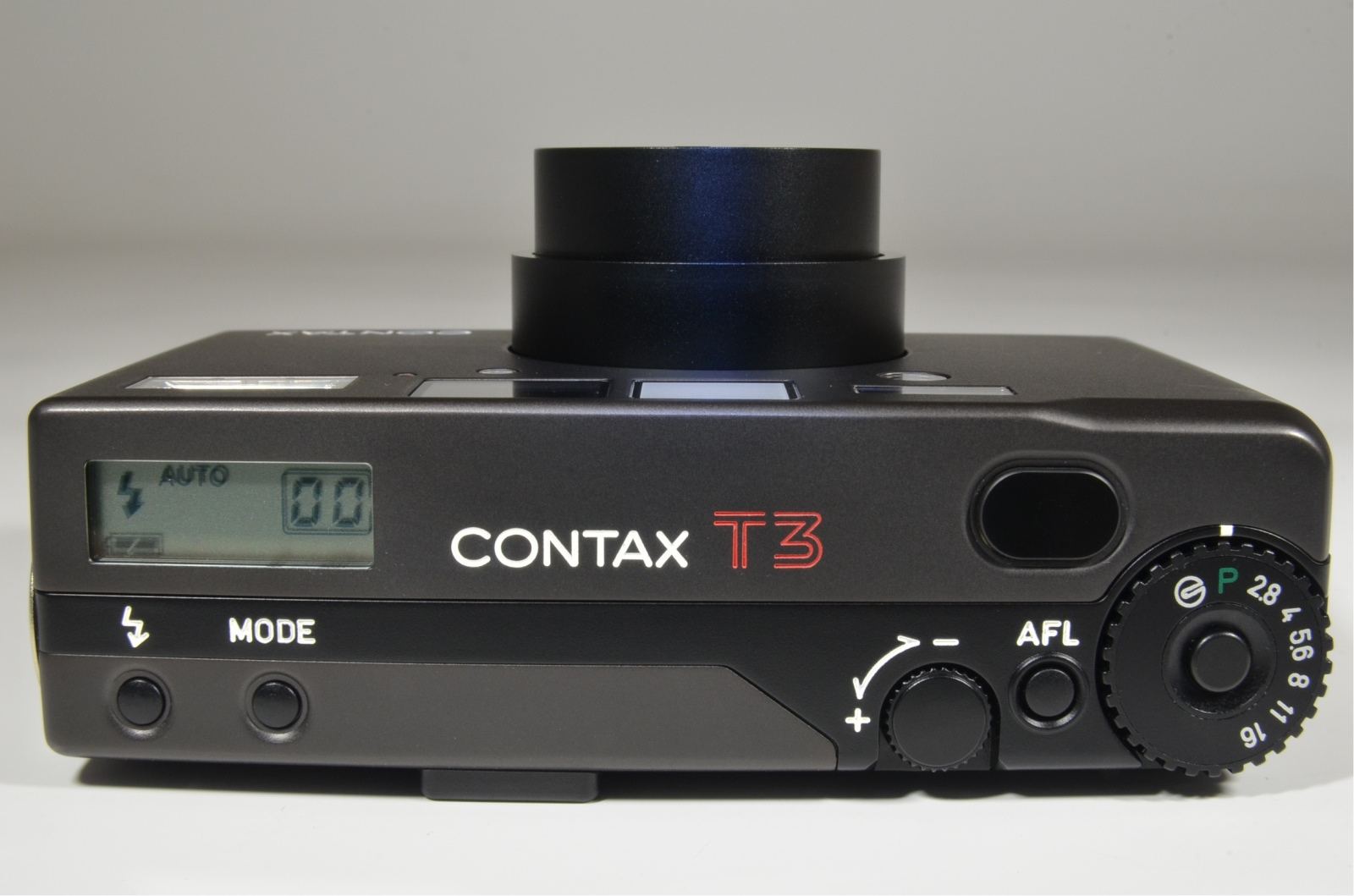 contax t3 titanium black point & shoot 35mm film camera