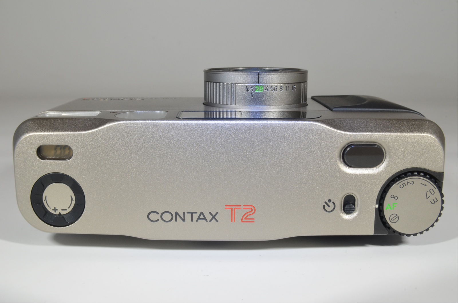 contax t2 data back point & shoot 35mm film camera