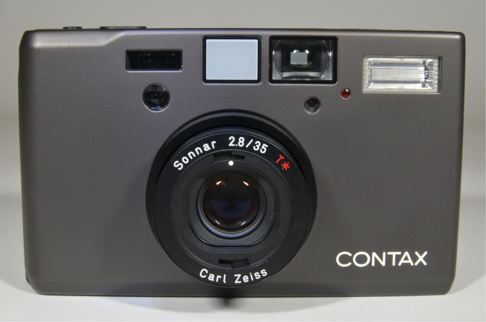contax t3 data back titanium black point & shoot 35mm film camera