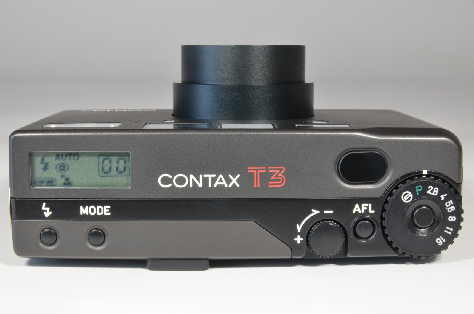 contax t3 black in boxed point & shoot 35mm film camera