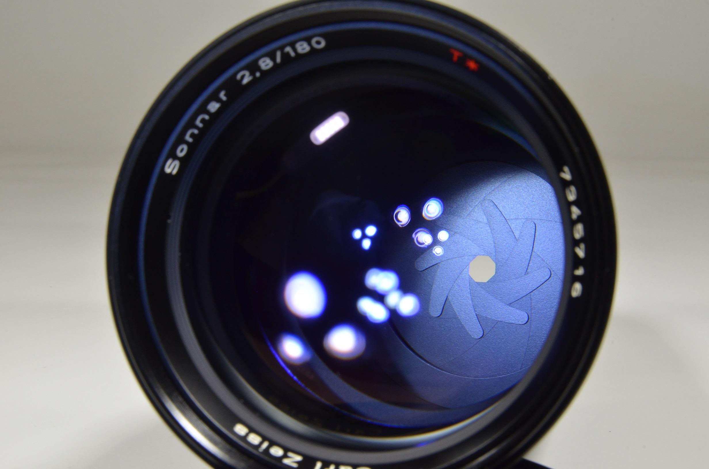 contax carl zeiss sonnar t* 180mm f2.8 mmj