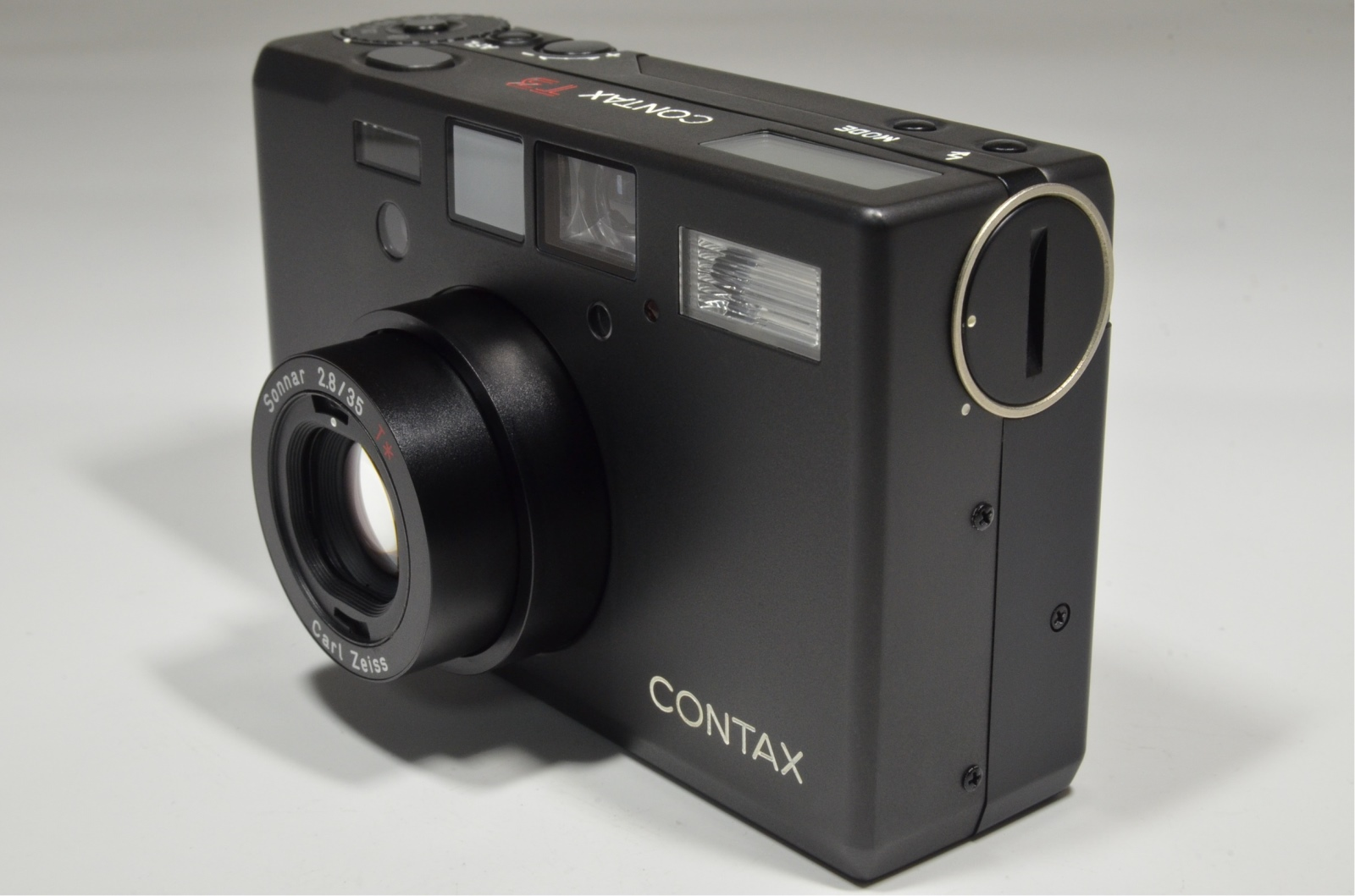 contax t3 titanium black double teeth 35mm film camera
