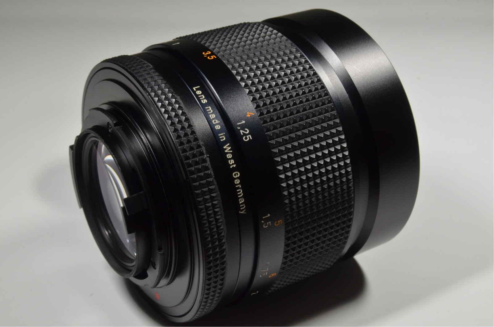 contax carl zeiss planar t* 85mm f1.4 aeg with mutar i 2x