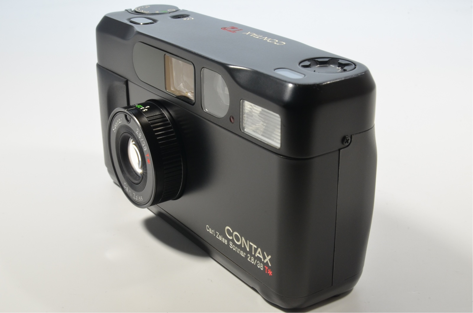 contax t2 black limited in boxed 35mm film