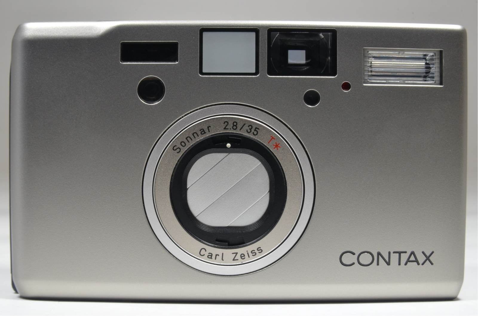 contax t3 point & shoot 35mm film camera