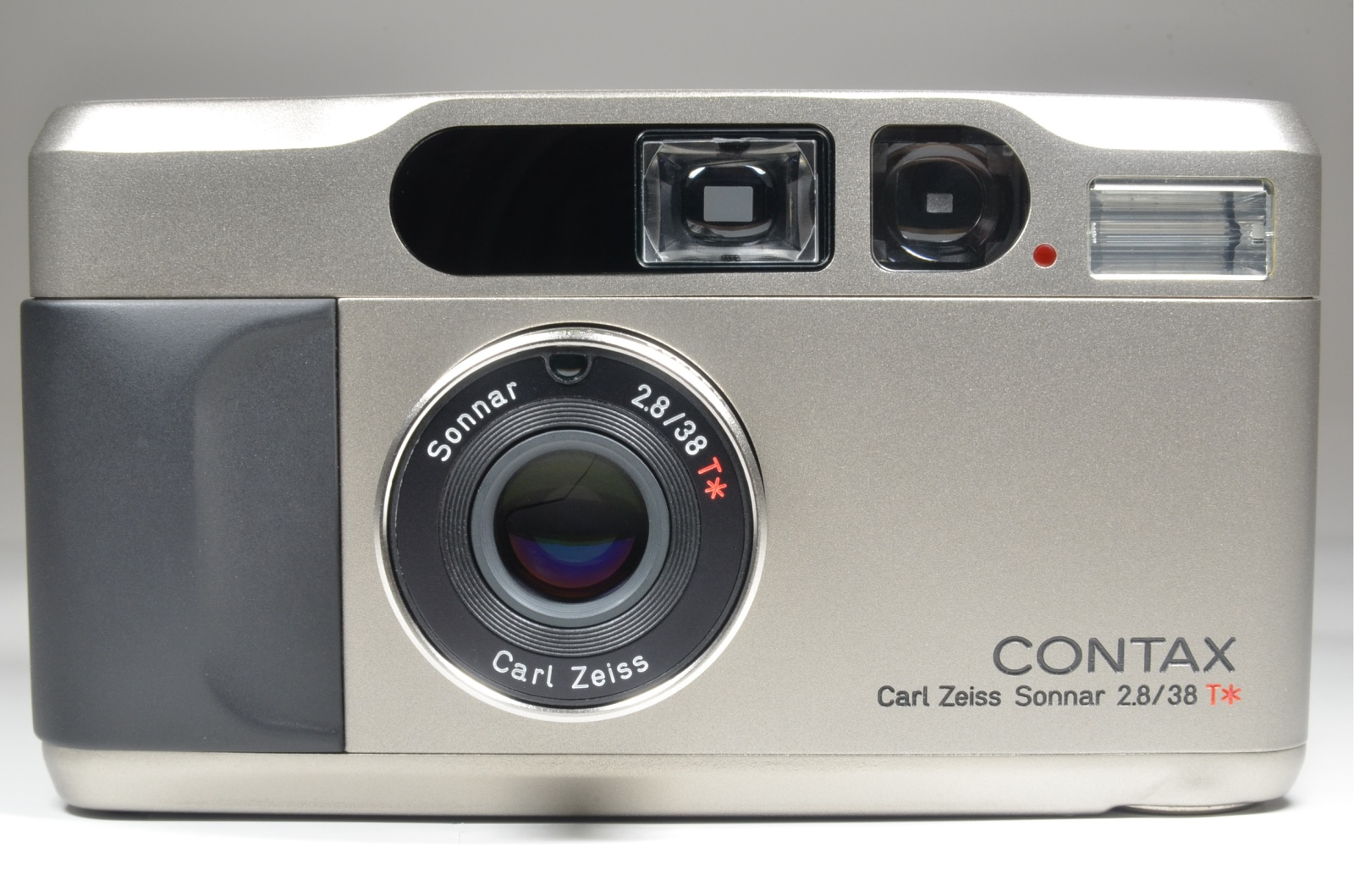 contax t2 point & shoot 35mm film camera