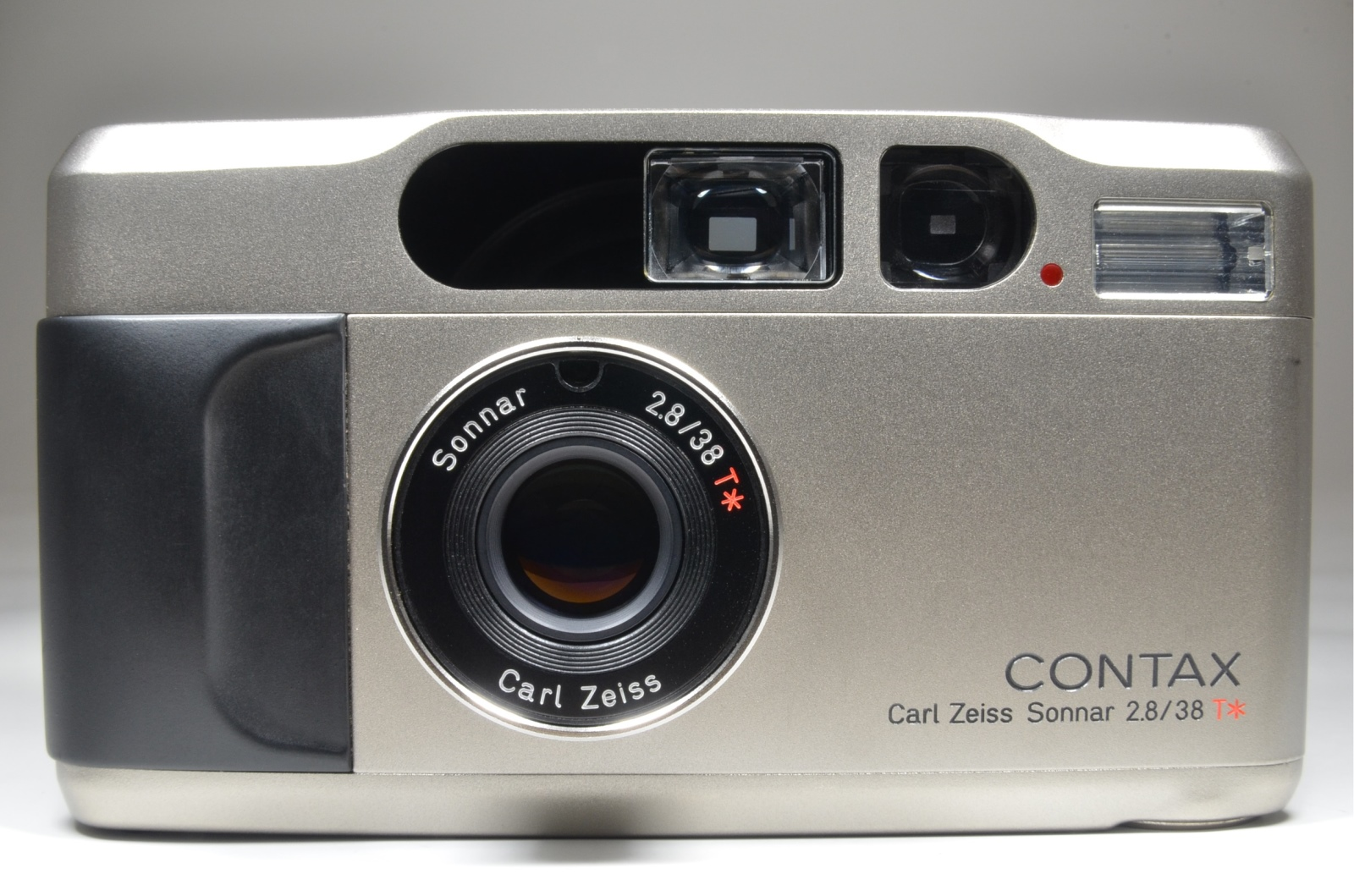 contax t2 data back point & shoot 35mm film camera full leather case