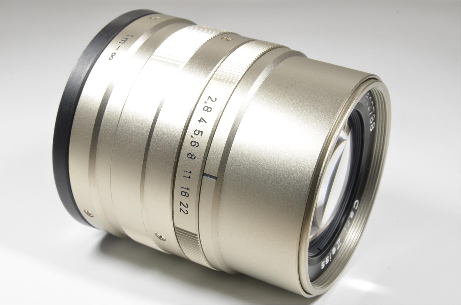 contax g2 with half case, planar 45mm, biogon 28mm, sonnar 90mm and tla200