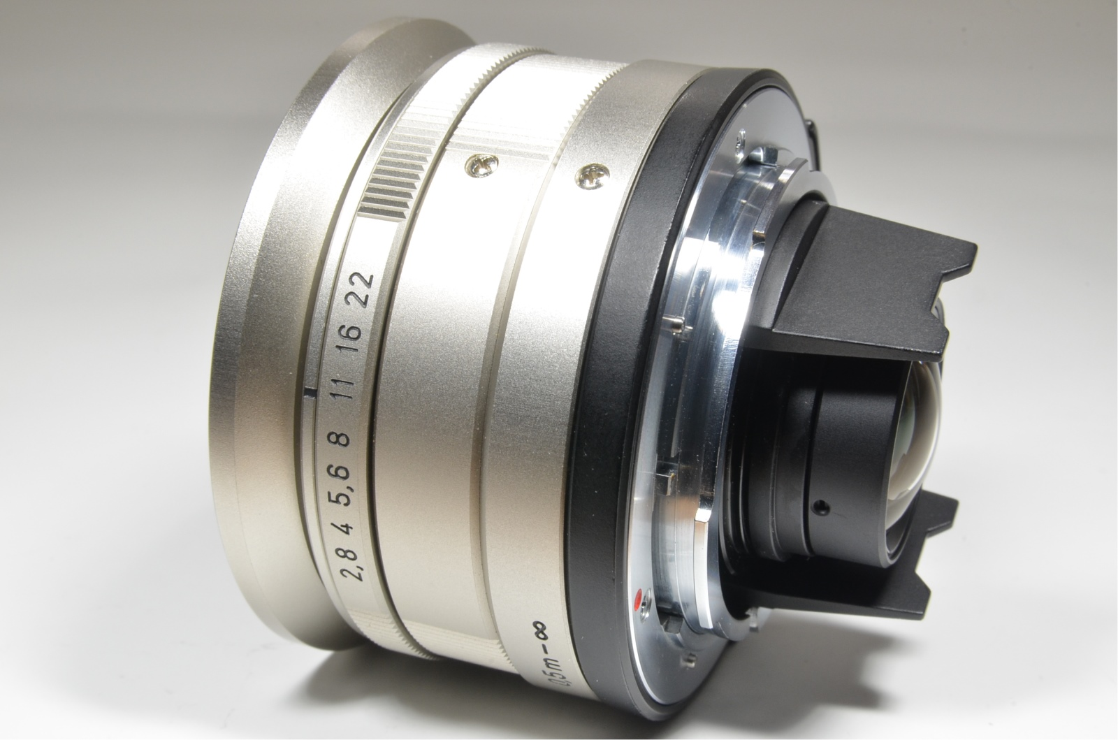 contax carl zeiss t* biogon 21mm f2.8 lens with view finder for g1 g2