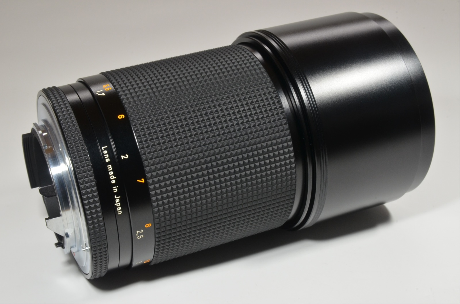 contax carl zeiss sonnar t* 180mm f2.8 mmj japan 'unused'