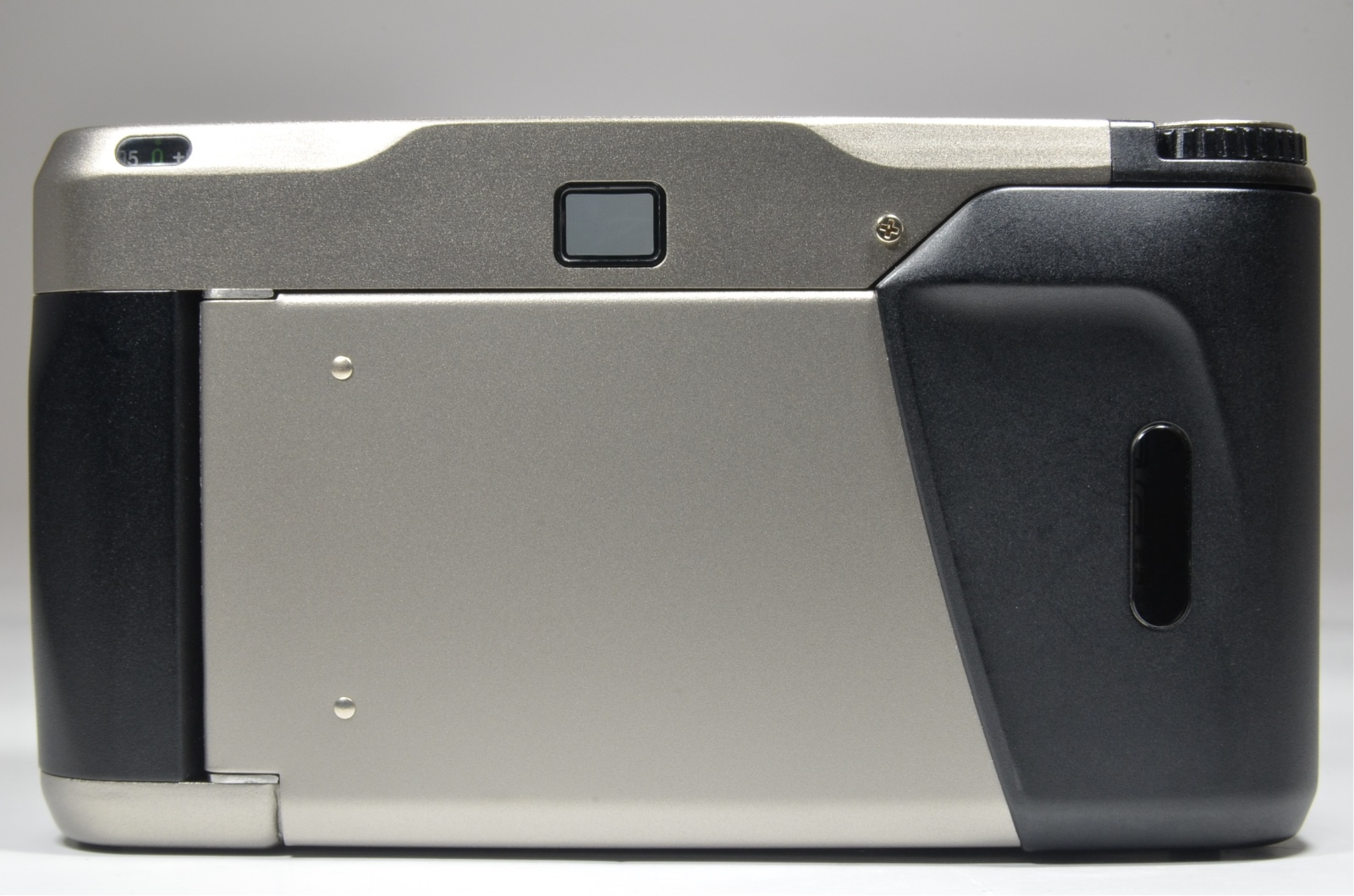 contax t2 titanium silver 35mm film camera full leather case