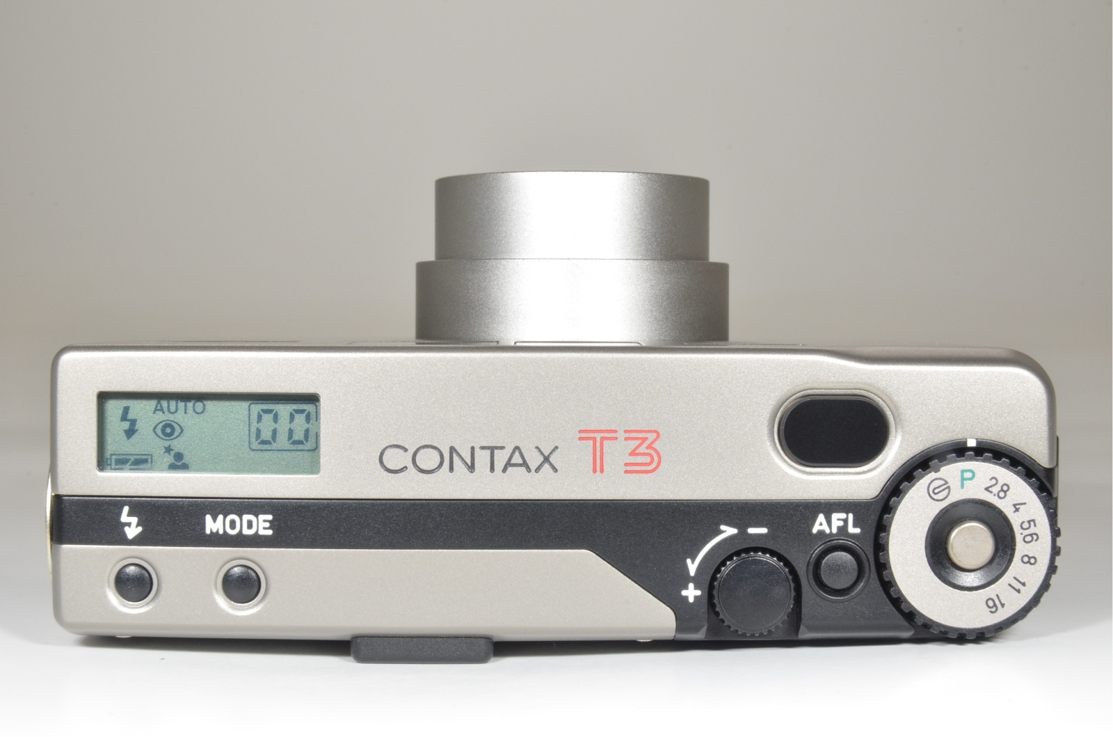 contax t3 double teeth with hirai leather case p&s 35mm film camera