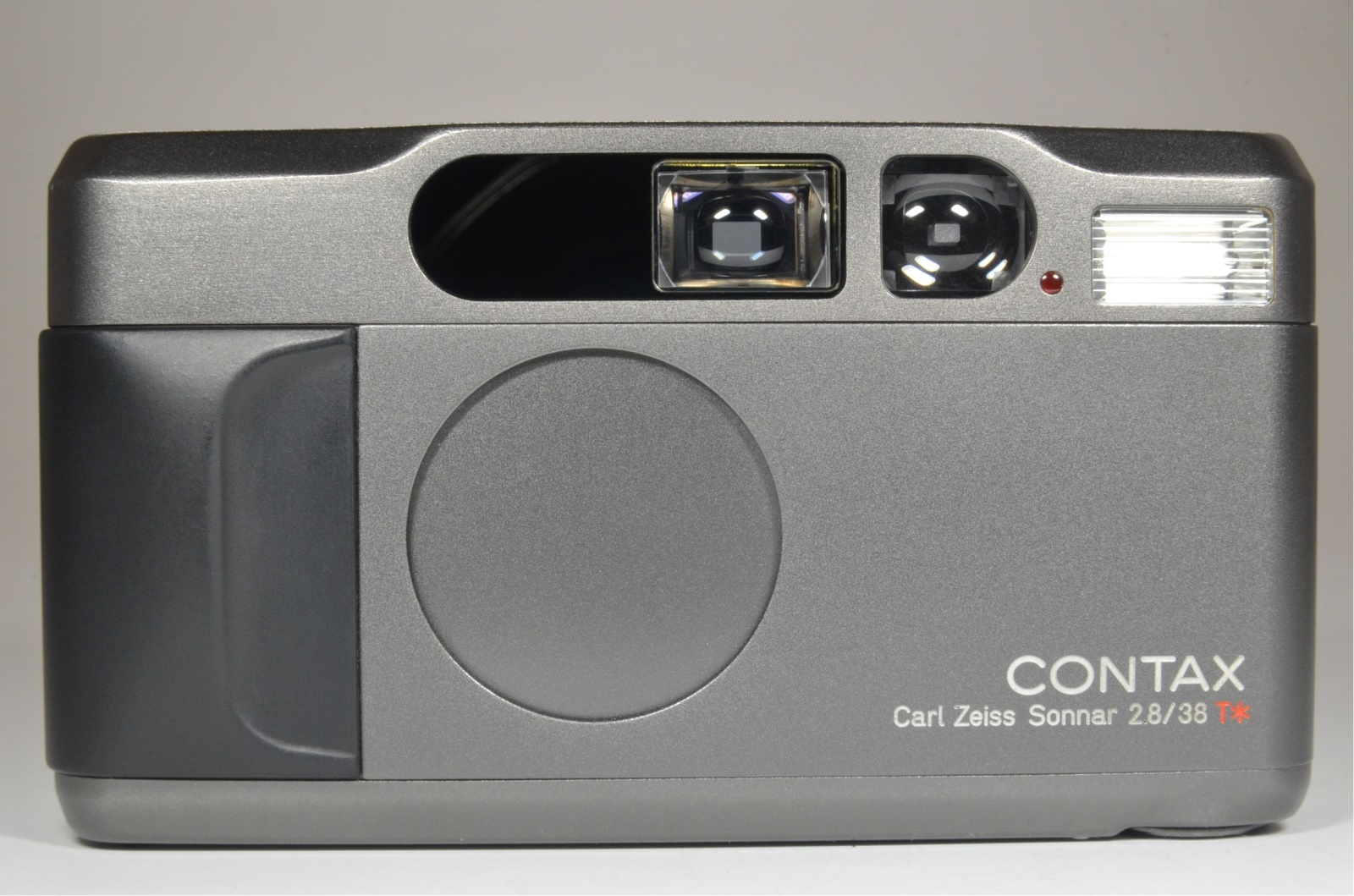 contax t2 titanium black point & shoot 35mm film camera boxed from japan