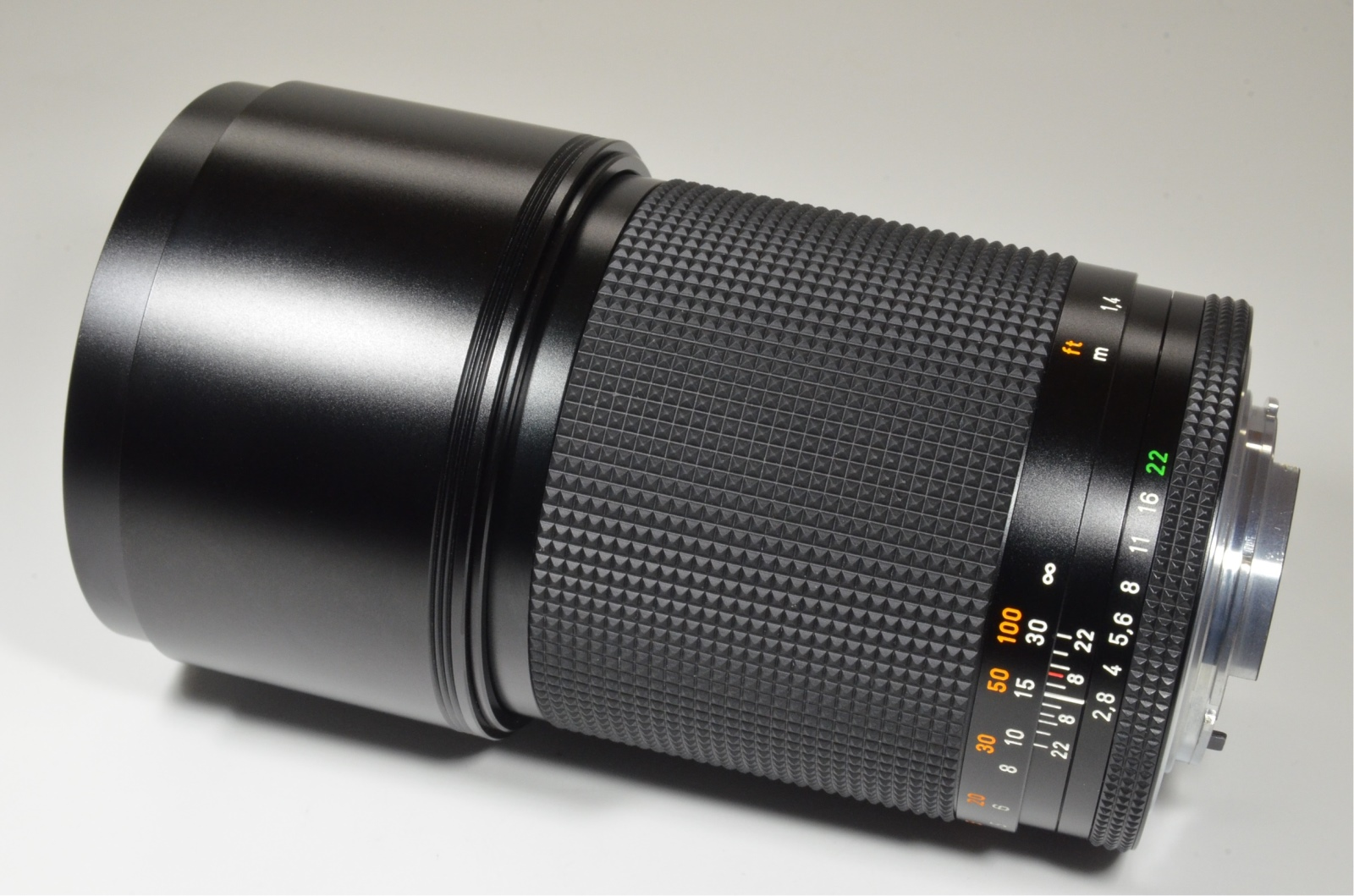 contax carl zeiss sonnar t* 180mm f2.8 mmj made in japan