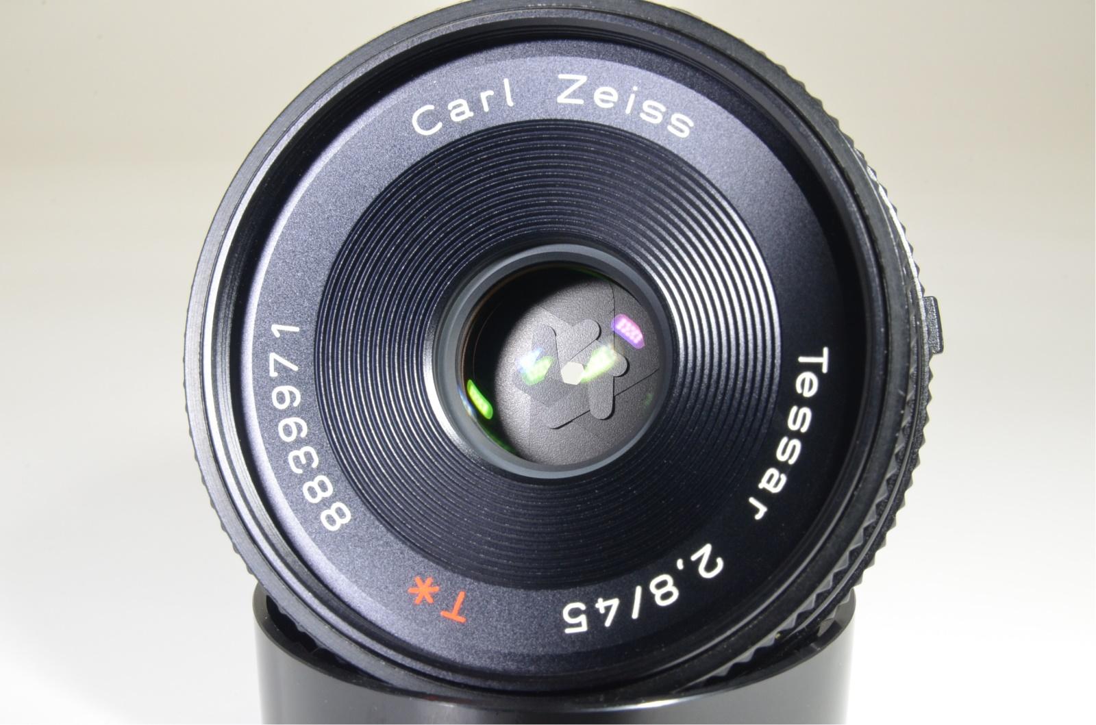 contax aria data back, tessar 45mm f2.8, vario-sonnar 28-70mm mmj film tested