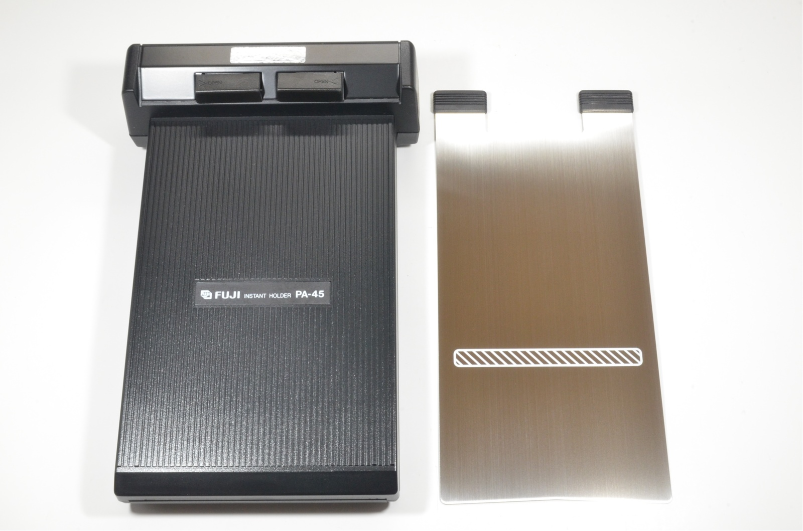 fuji fujifilm pa-45 4x5 polaroid instant film back holder 'unused'