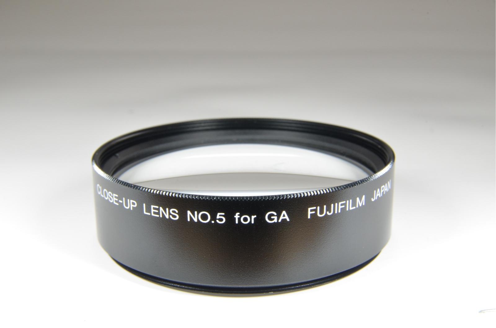 fuji fujifilm ga close-up lens kit no.5 for ga645 medium format camera