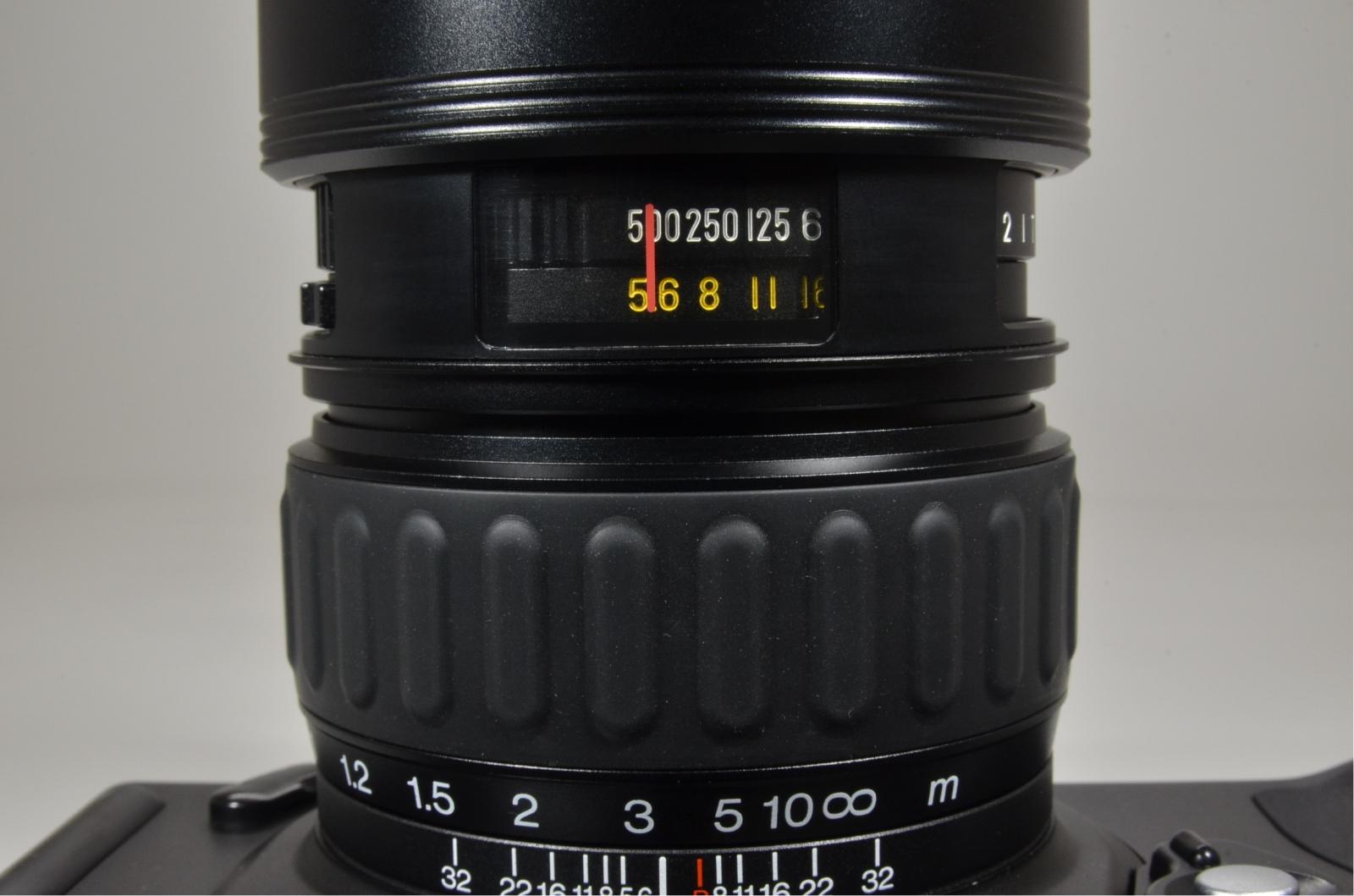 fuji fujifilm gsw690iii 65mm f5.6 medium format count only '064'