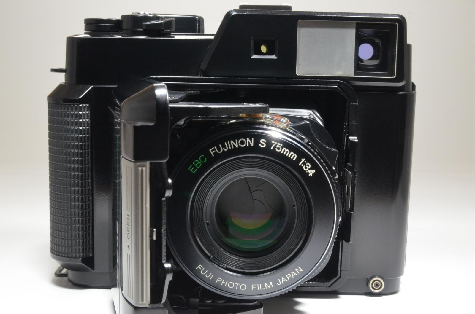 fujifilm fujica gs645 film camera 75mm f3.4 from japan