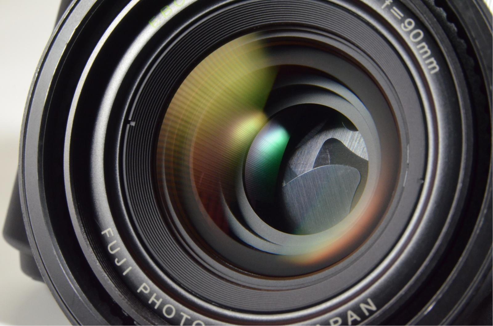 fuji fujifilm gw690iii 90mm f3.5 medium format count only '067' rare!