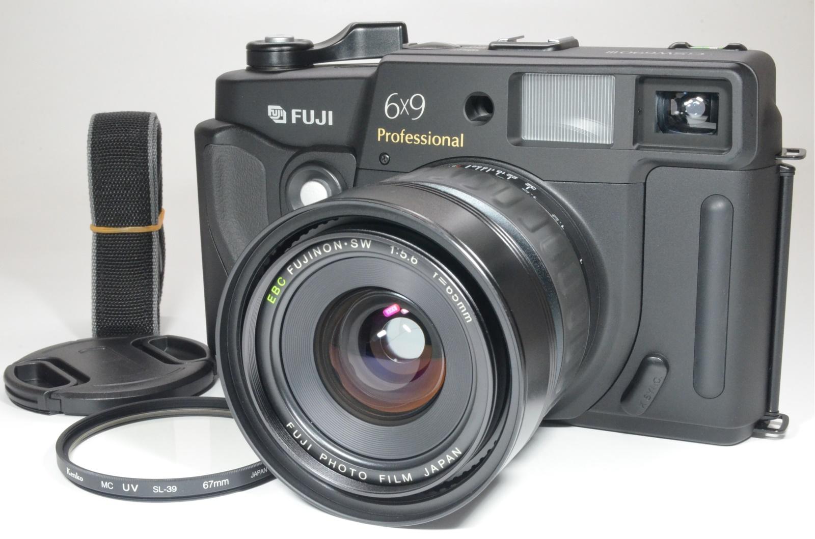 fuji fujifilm gsw690iii 65mm f5.6 count '036' medium format camera