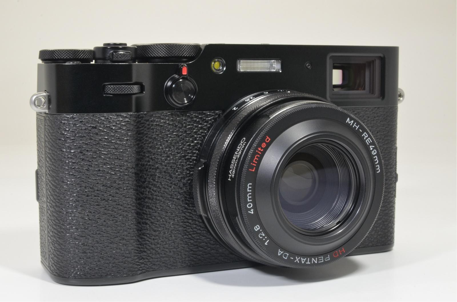 fuji fujifilm x100v black, wcl-x100ii and many accessories shutter count '2700'